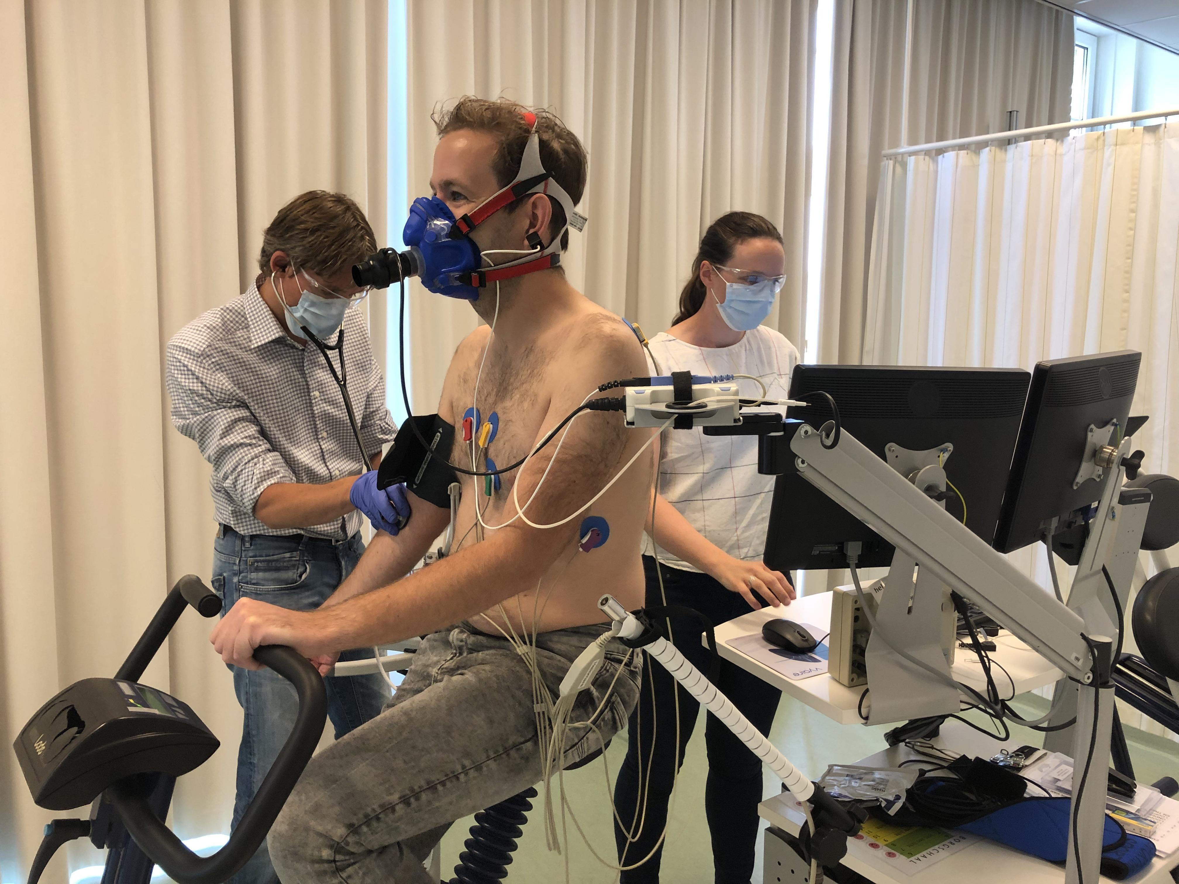 Onderzoek bij Heliomare in Wijk aan Zee: coronavirus en beademing op intensive care zijn een aanslag op fysieke fitheid