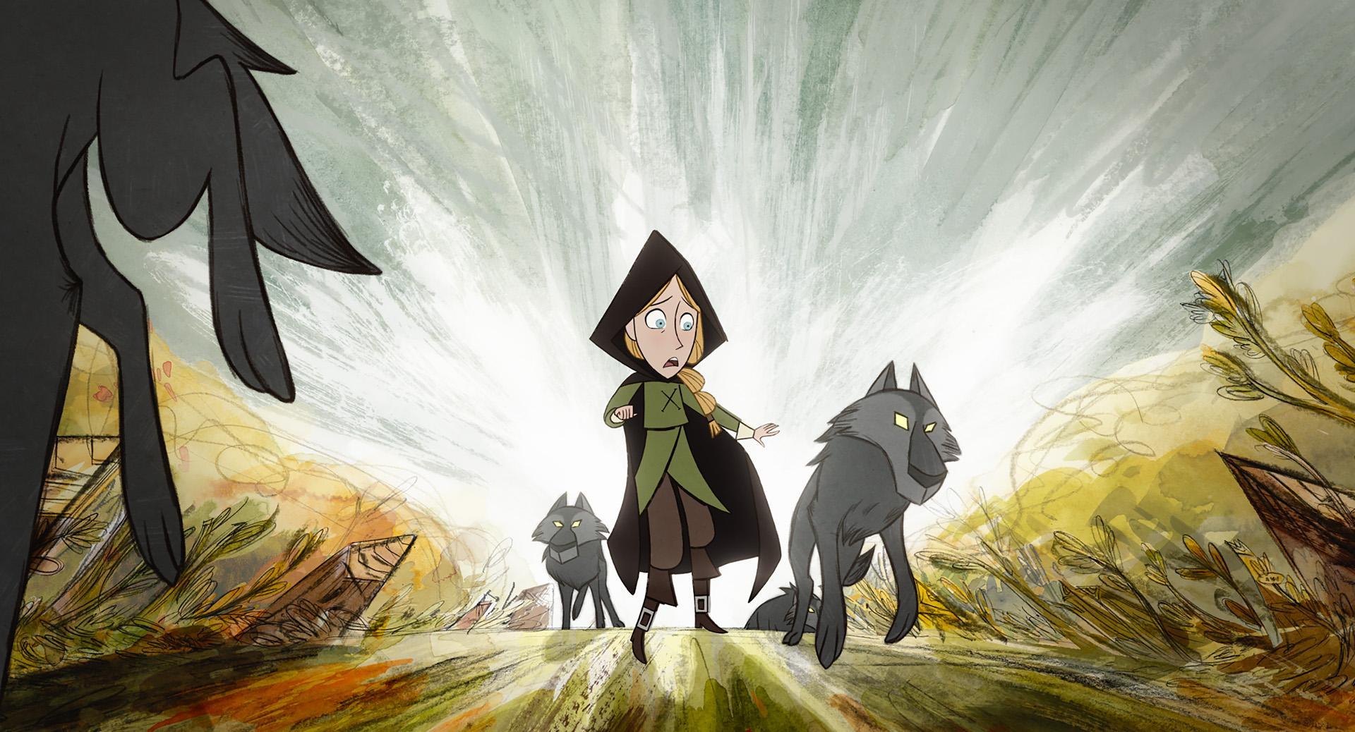 Filmrecensie 'Wolfwalkers':Prachtige animatie en een indrukwekkend verhaal