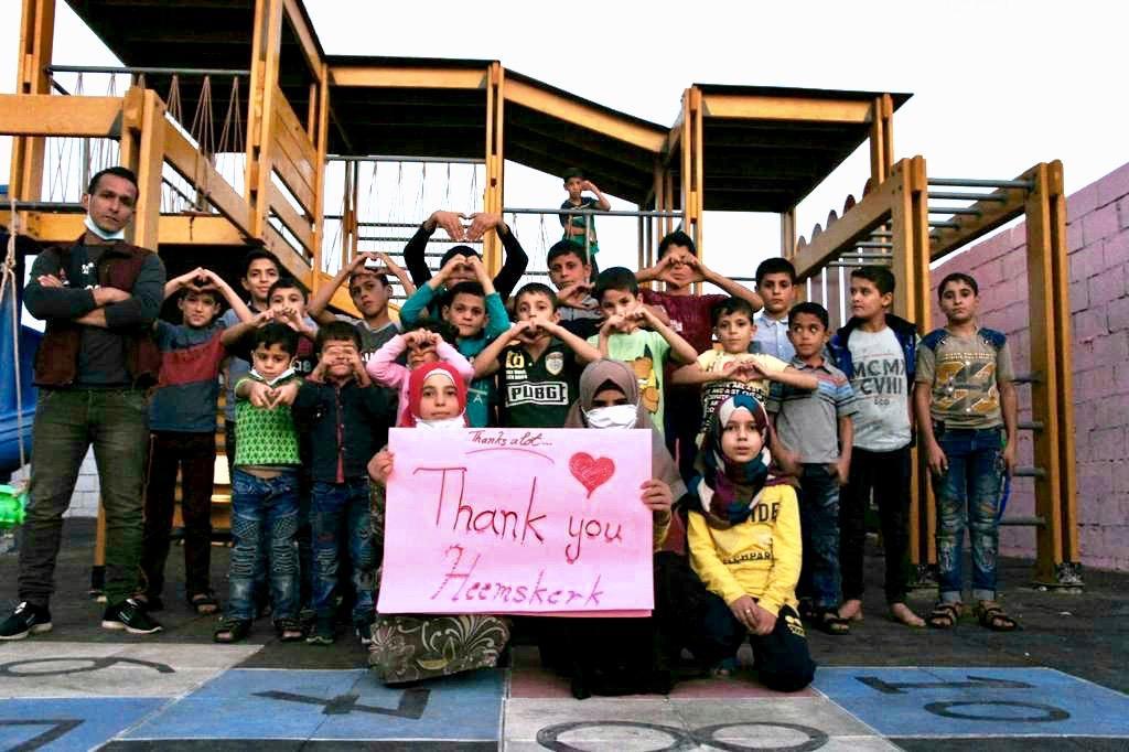 2500 euro uit Heemskerk voor weeshuis in Syrië -'Bijzonder dat wij als dorp zo actief kunnen zijn'