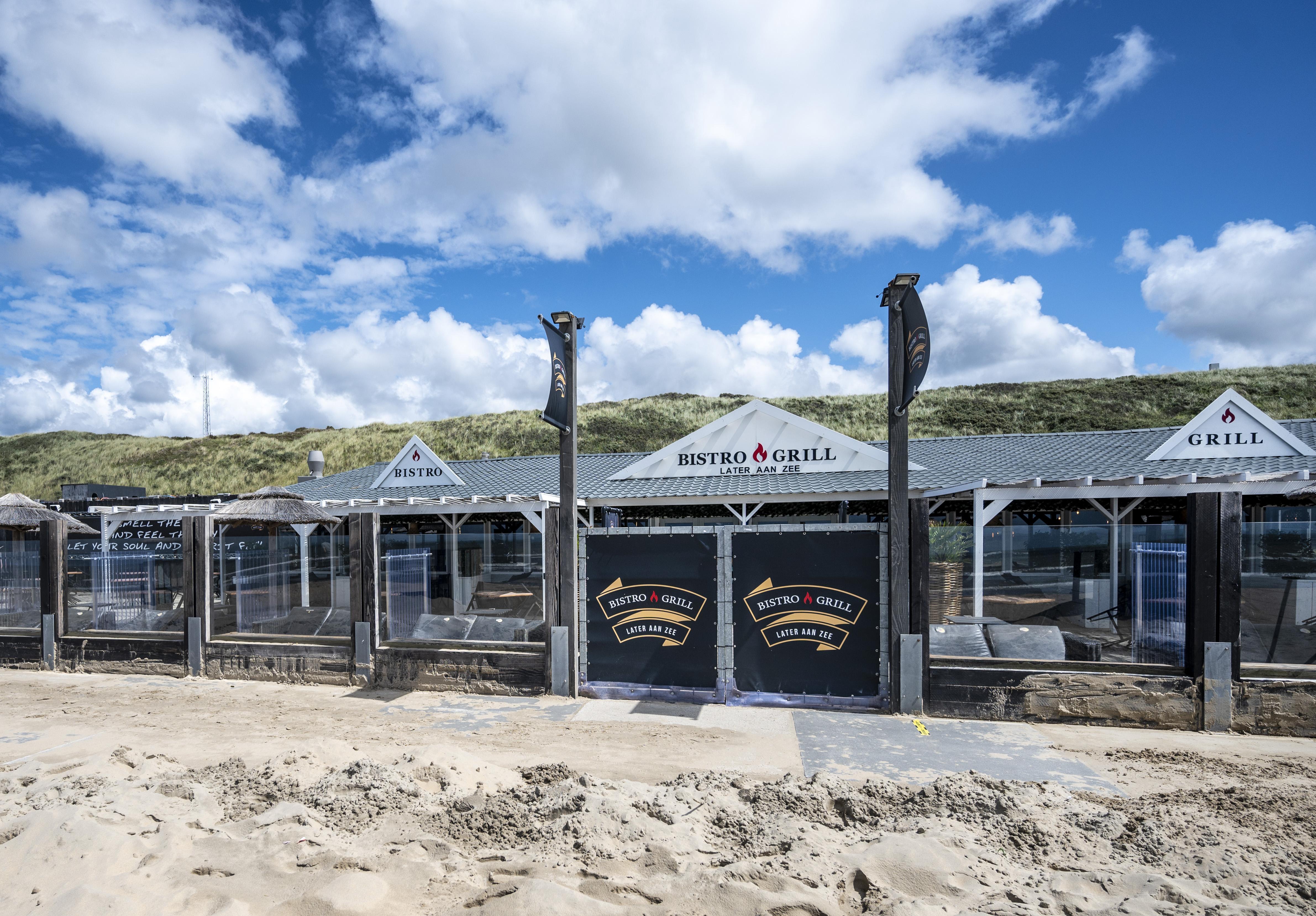 Bloemendaals strandpaviljoen Later aan Zee mag de deuren weer openen, horecabedrijf wint kort geding