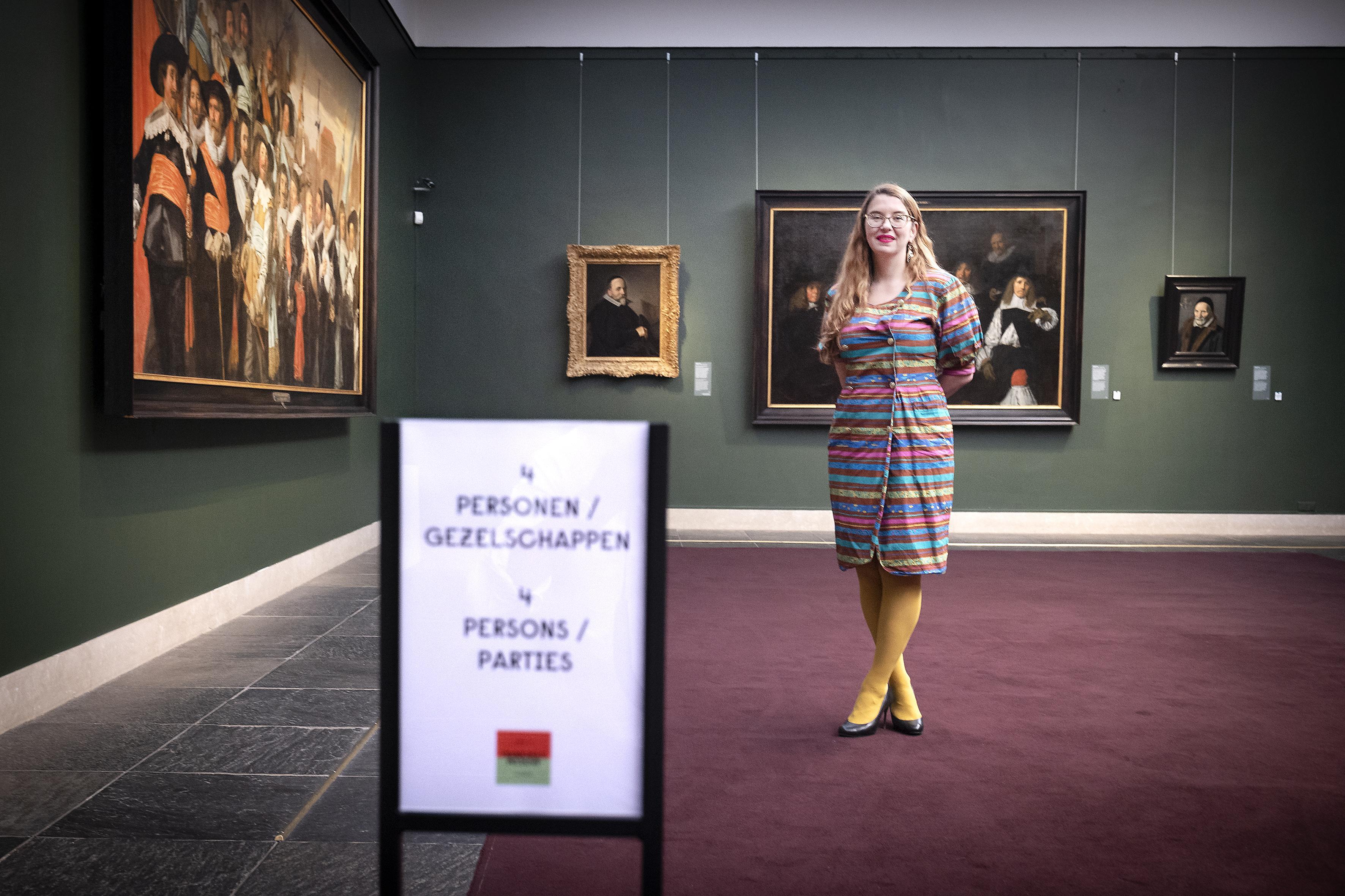 Iedereen kan zich nu even VIP wanen in het Frans Hals Museum in Haarlem