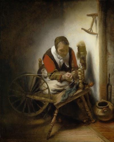 Haarlem exploiteerde horige Poolse boeren. Haarlemse spinsters verloren in 17e eeuw hun inkomsten door import van garens