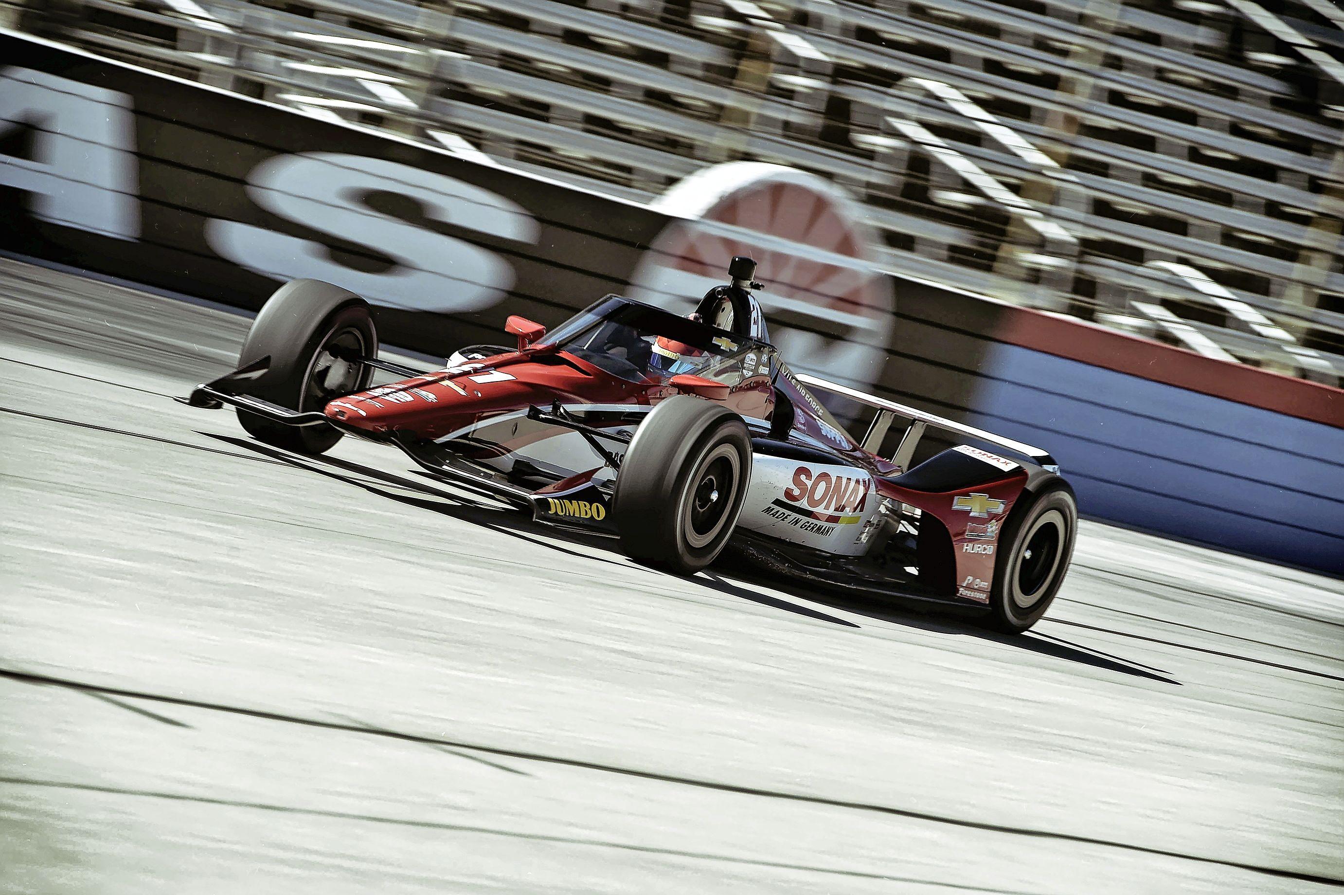 Journalisten weten het zeker: Rinus van Kalmthout gaat in 2021 een IndyCar-race winnen. Wat hijzelf denkt? 'Absoluut mijn doel'