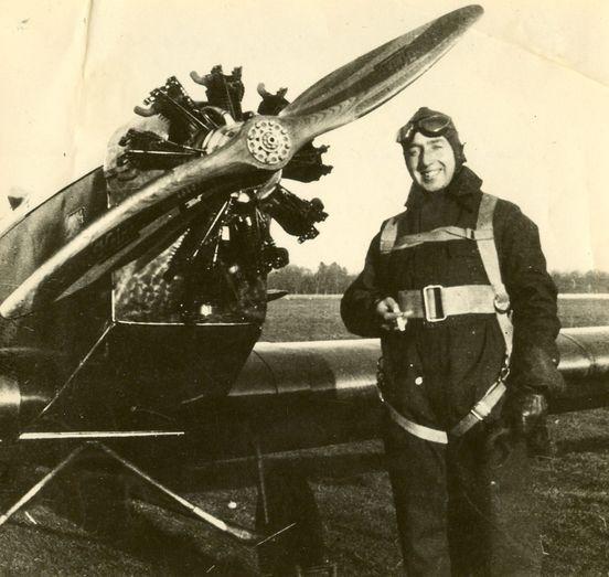 Zwaagdijk is in mei 1940 slechts tussenstop in de levensloop van vliegenier Hein Bulten