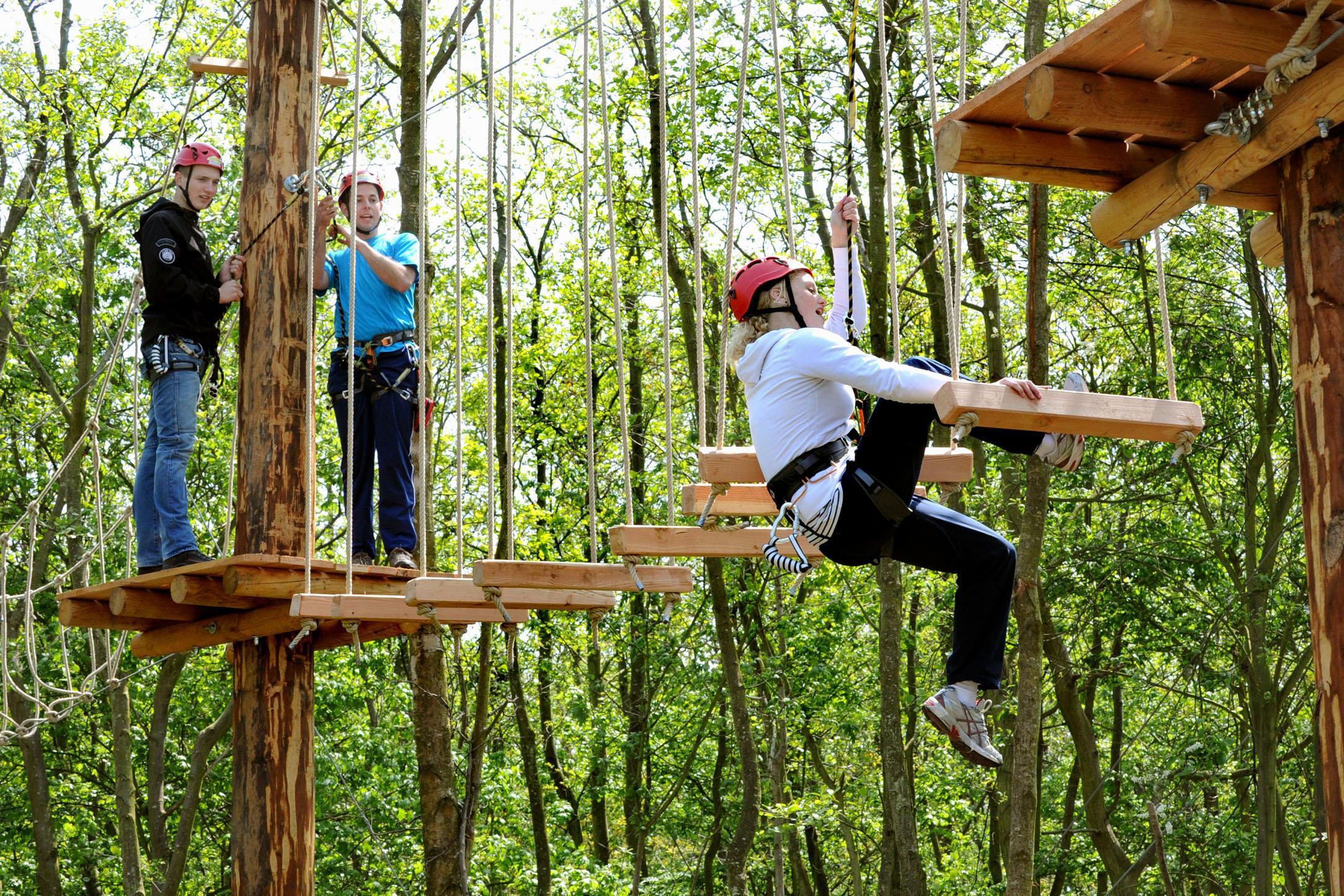 Klimpark in Park21 deze zomer al geopend