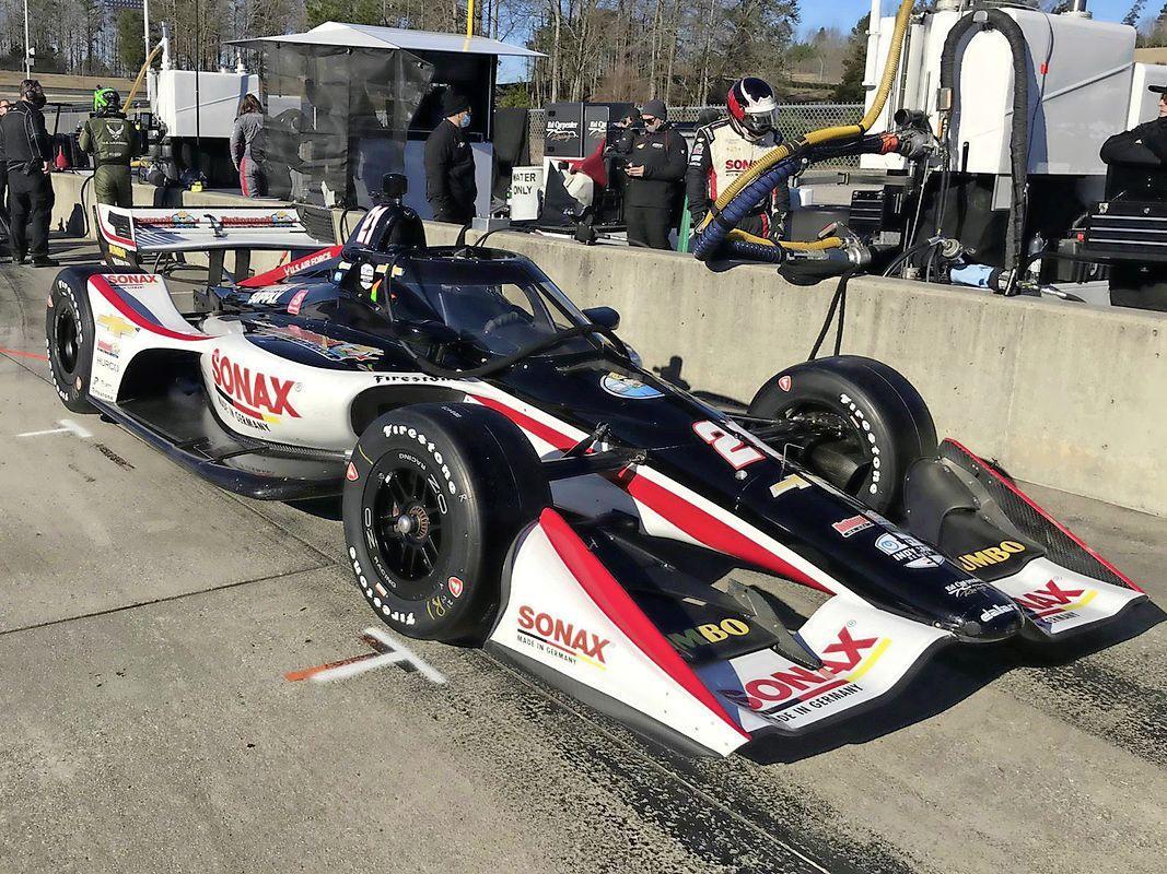 Hoofddorper Rinus van Kalmthout de snelste tijdens testdag op circuit waar IndyCar-seizoen in april wordt afgetrapt