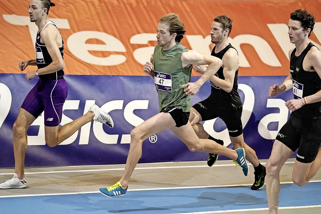 Atleet Jurgen Wielart loopt limiet op traditionele spikes maar wacht ook op zijn carbonspikes. De 'wondersloffen' zijn onderweg uit de USA, maar komen voor Wielart te laat voor het Nederlandse kampioenschap