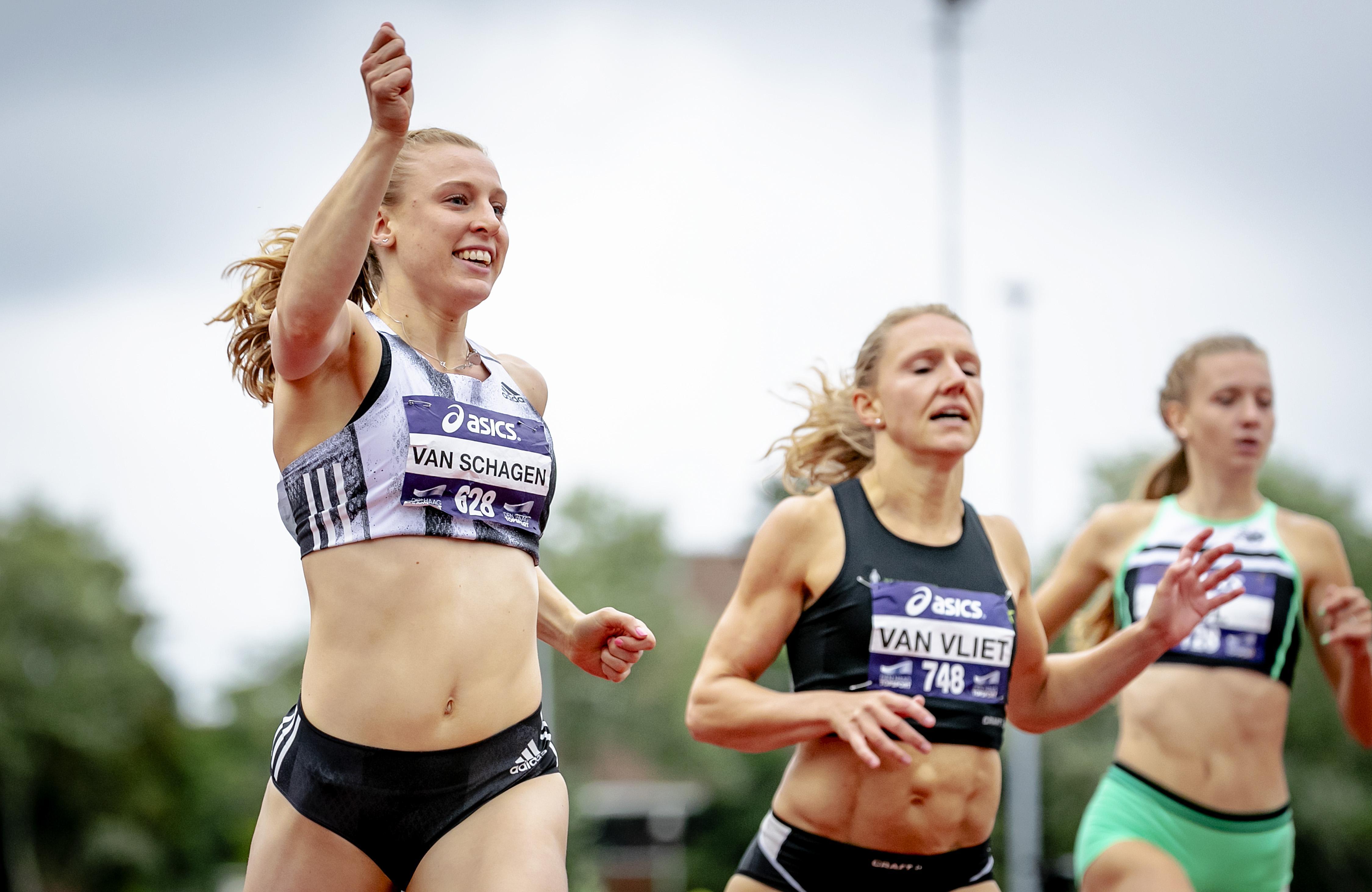 Tessa van Schagen kijkt met veel plezier terug op haar atletiekcarrière: 'Ik wist dat ik hard kon lopen. Maar zo hard...'