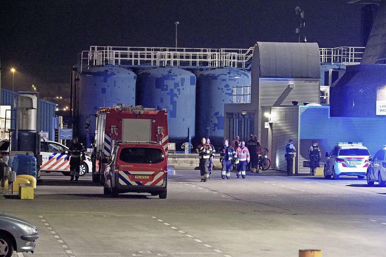 Ernstig ongeval bij fabriek Cebo in IJmuiden