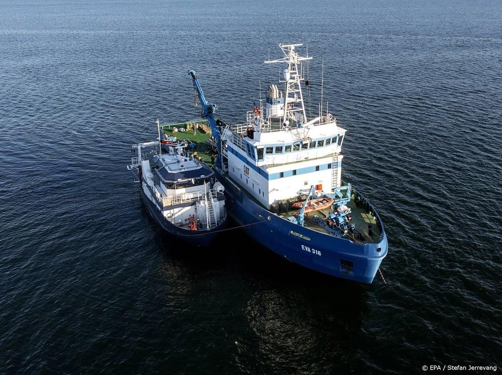 Duikers ronden onderzoek bij wrak MS Estonia af