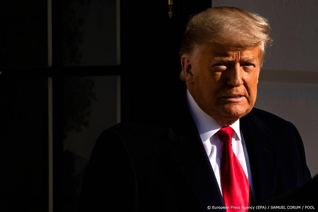 Trump roept op tot kalmte: geen geweld