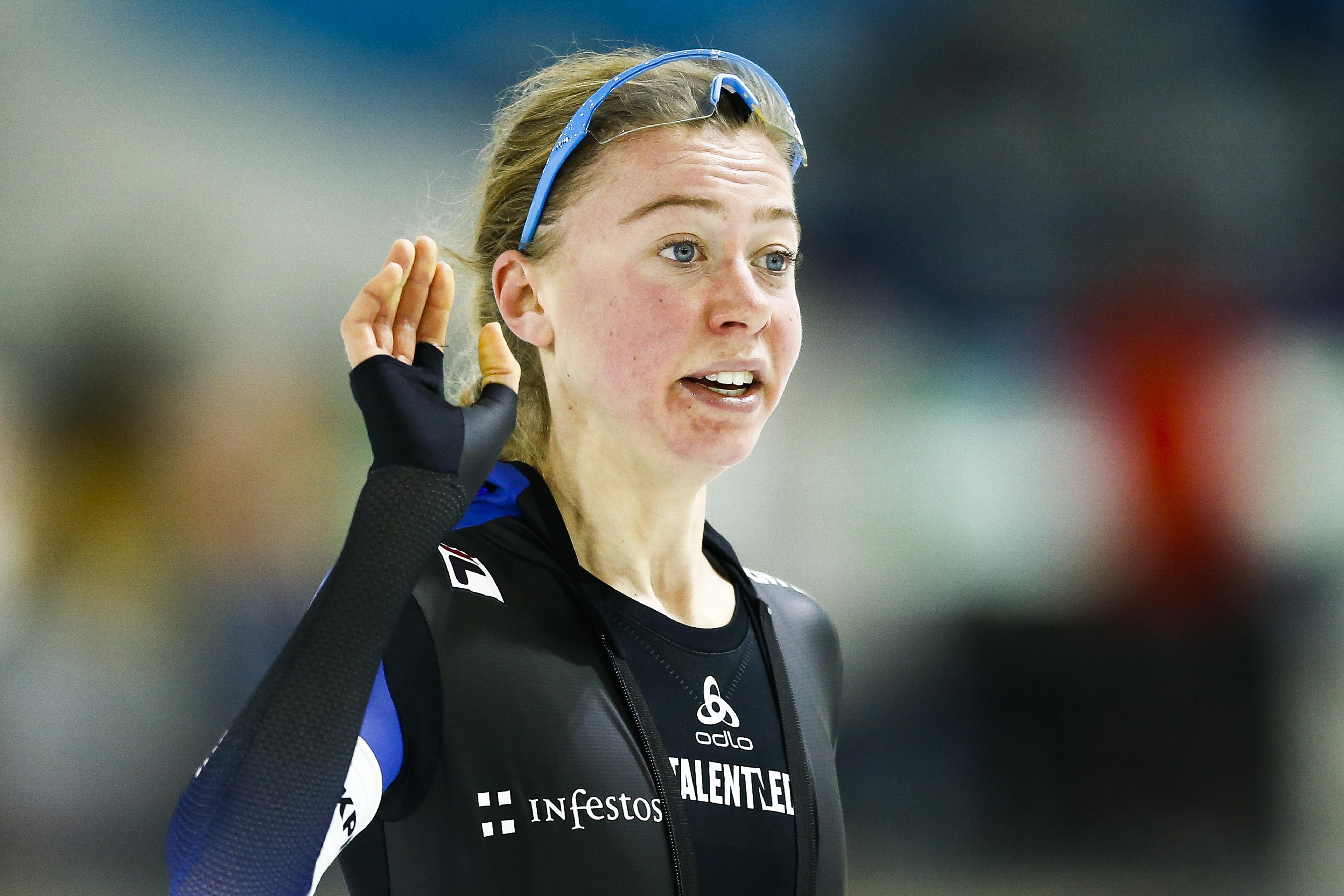 Esmee Visser vierde op 3000 meter wereldbeker Hamar