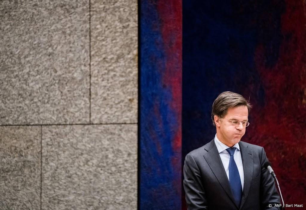 Rutte zwijgt over overlevingskans van zijn kabinet