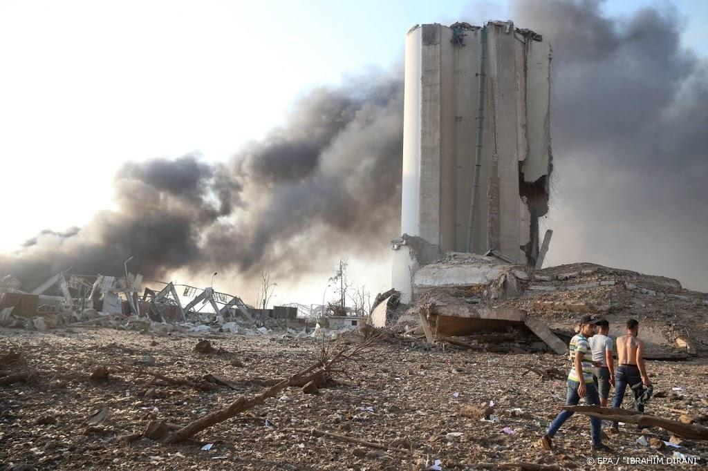 Meer dan 100 doden na explosies Beiroet