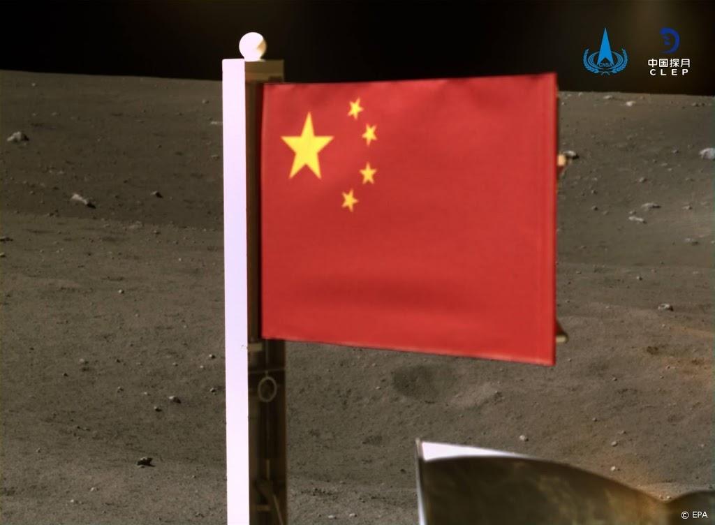 China plant als tweede land vlag op de maan