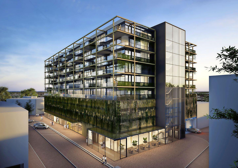 Plannen voor City Parking in Hilversum nog niet uitgewerkt. Ruim honderd appartementen in 'Blok Groen' aan het Noordse Bosje