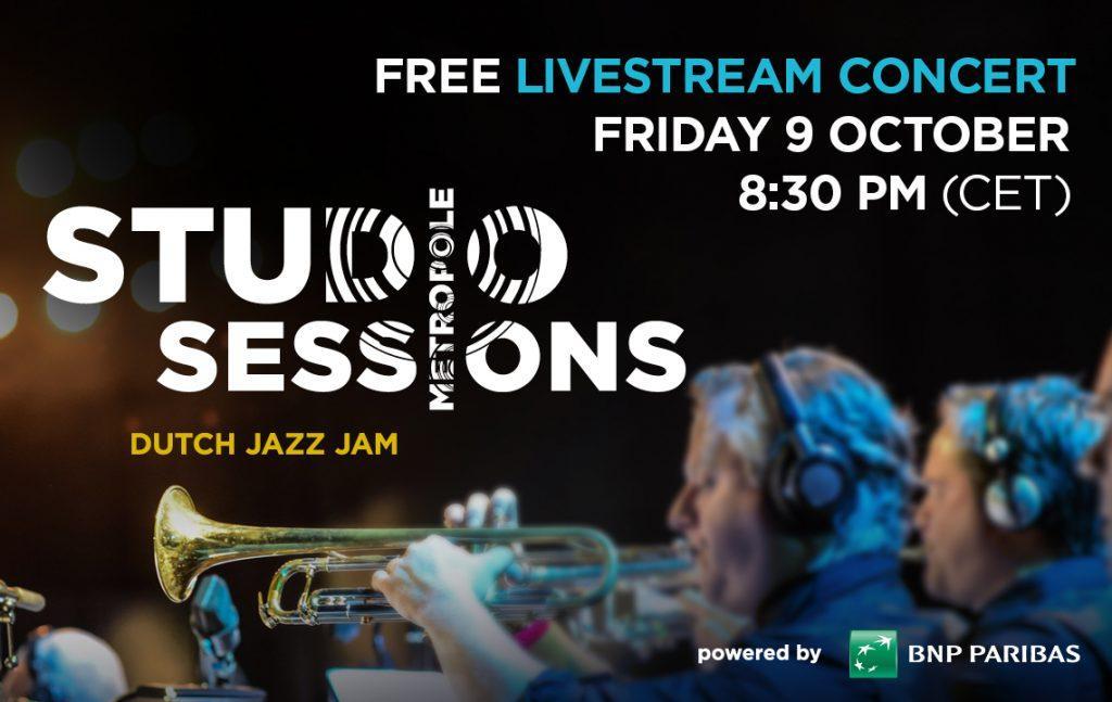 Metropole Orkest houdt vrijdagavond gratis 'online-concert' met Nederlands beste jazzmuzikanten