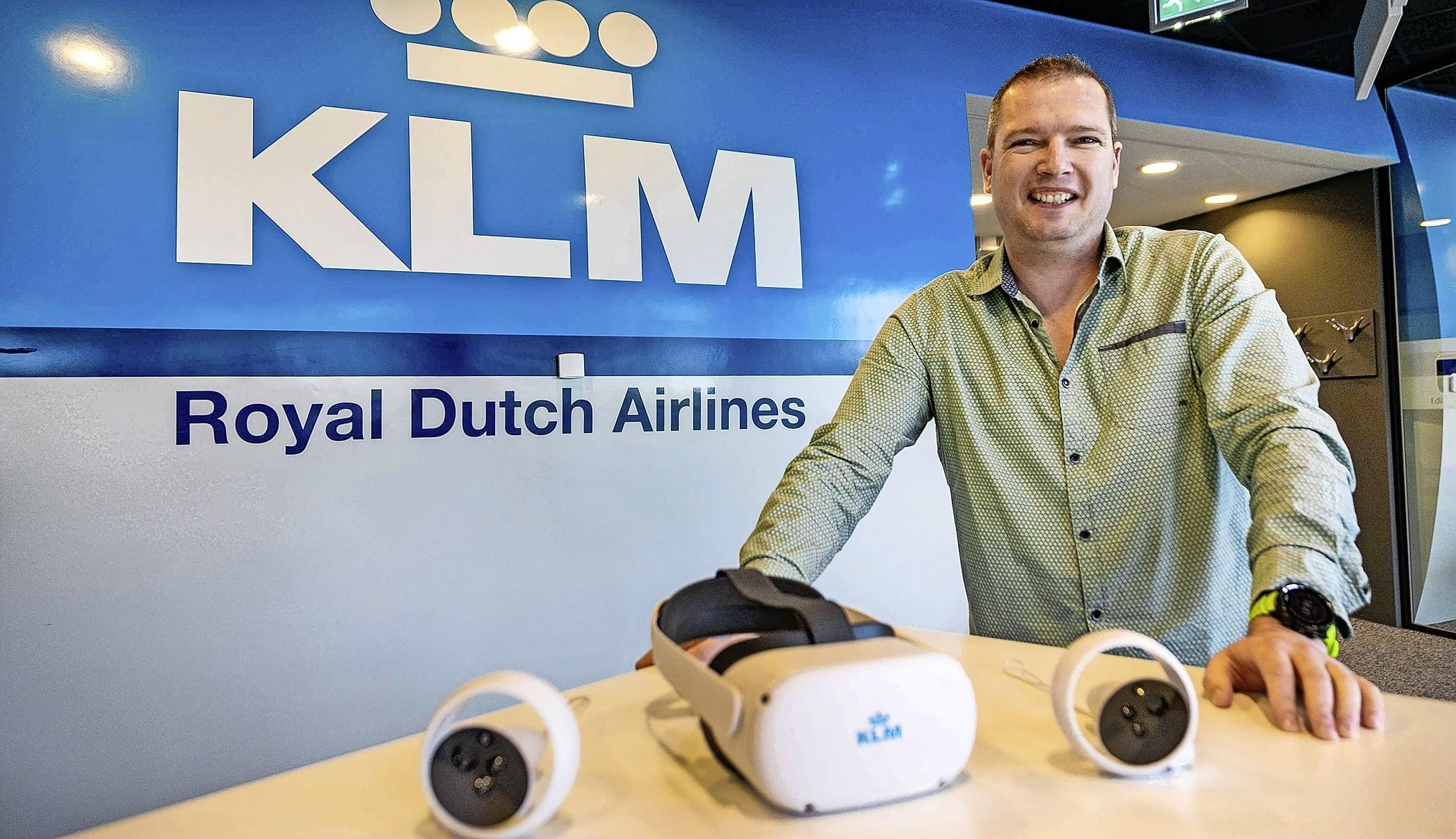 Van schoonmaker tot piloot werkt ermee bij KLM: de kracht van virtual reality