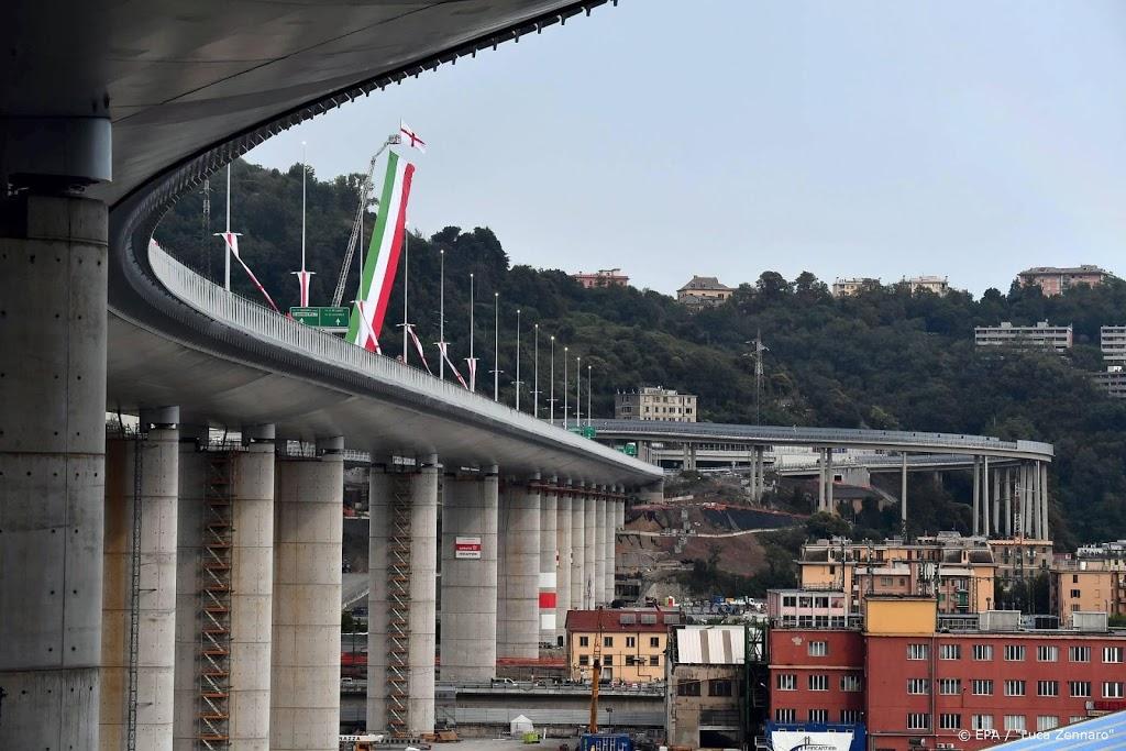 Genua opent nieuwe brug na instorten Morandibrug in 2018