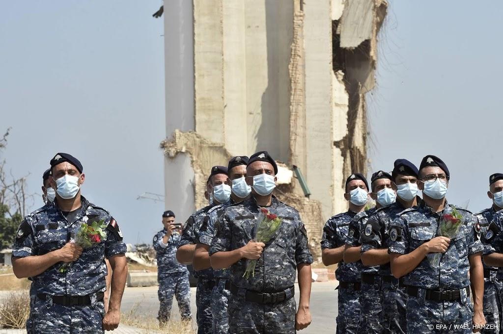 Woede en verdriet in Libanon bij herdenking havenramp
