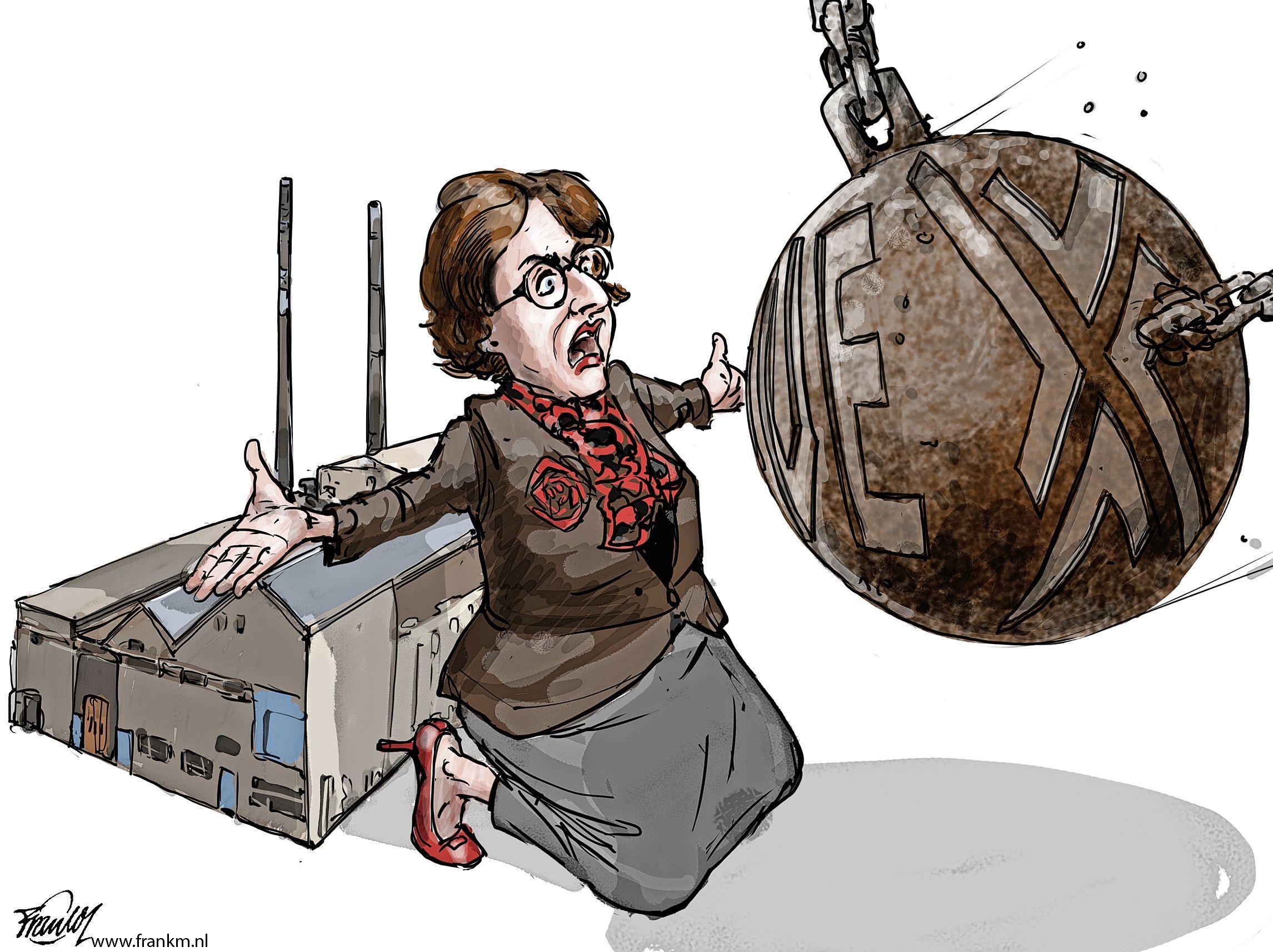 Huizer politiek huilt krokodillentranen over sloop BNI