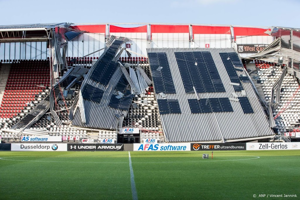Onderzoeksraad presenteert rapport over instorten dak AZ-stadion