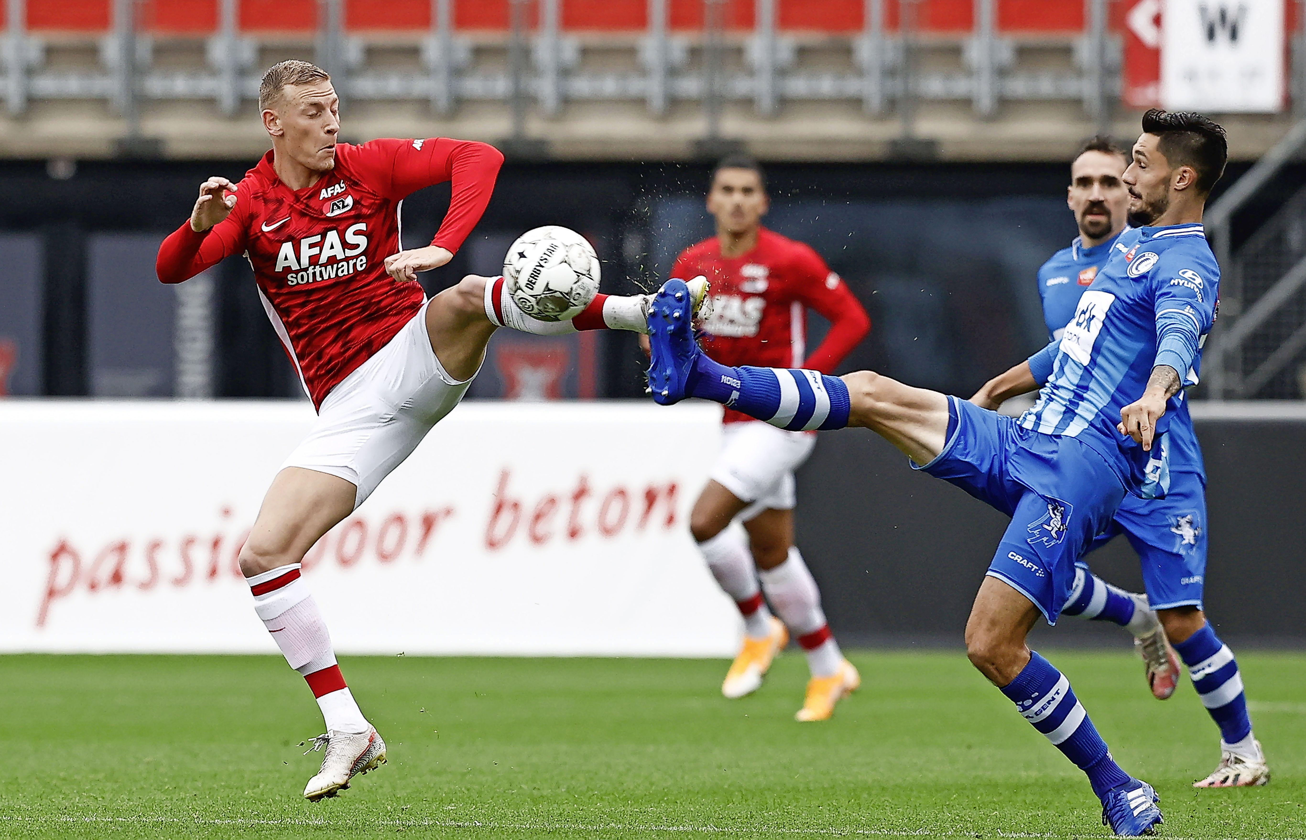 Opmerkelijke carrière van AZ-verdediger Kramer gaat verder in Deventer. 'Dit is voor alle drie een mooie stap'