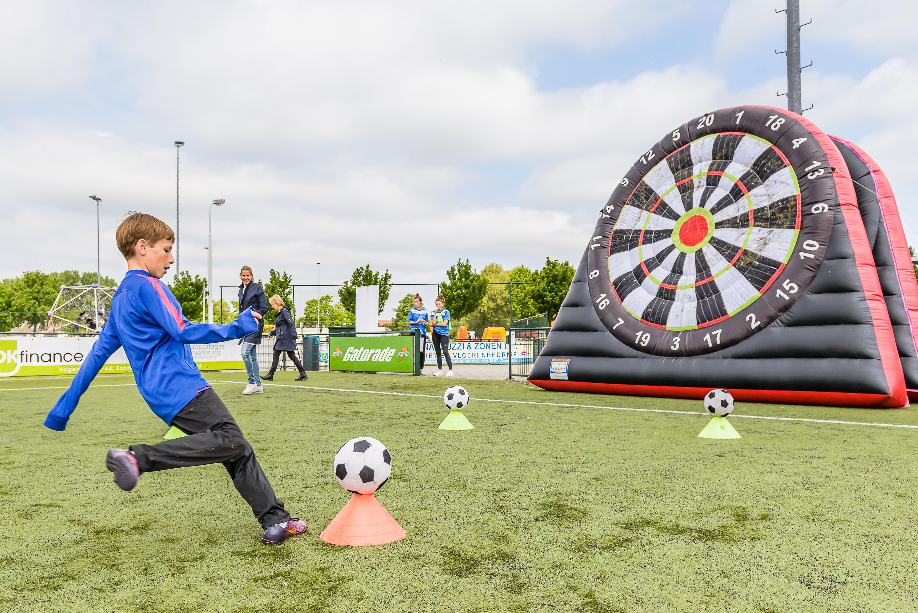 Sportactiviteit speciaal onderwijs Zaanstad schiet in de roos