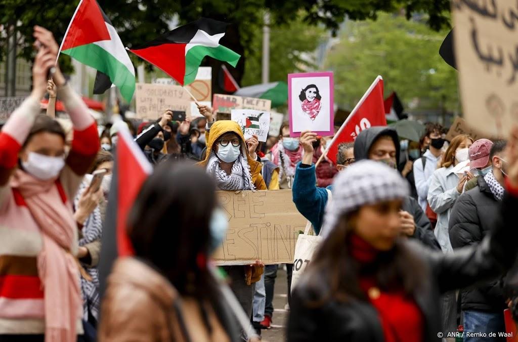 Meerdere arrestaties bij pro-Palestijnse demonstratie in Den Haag