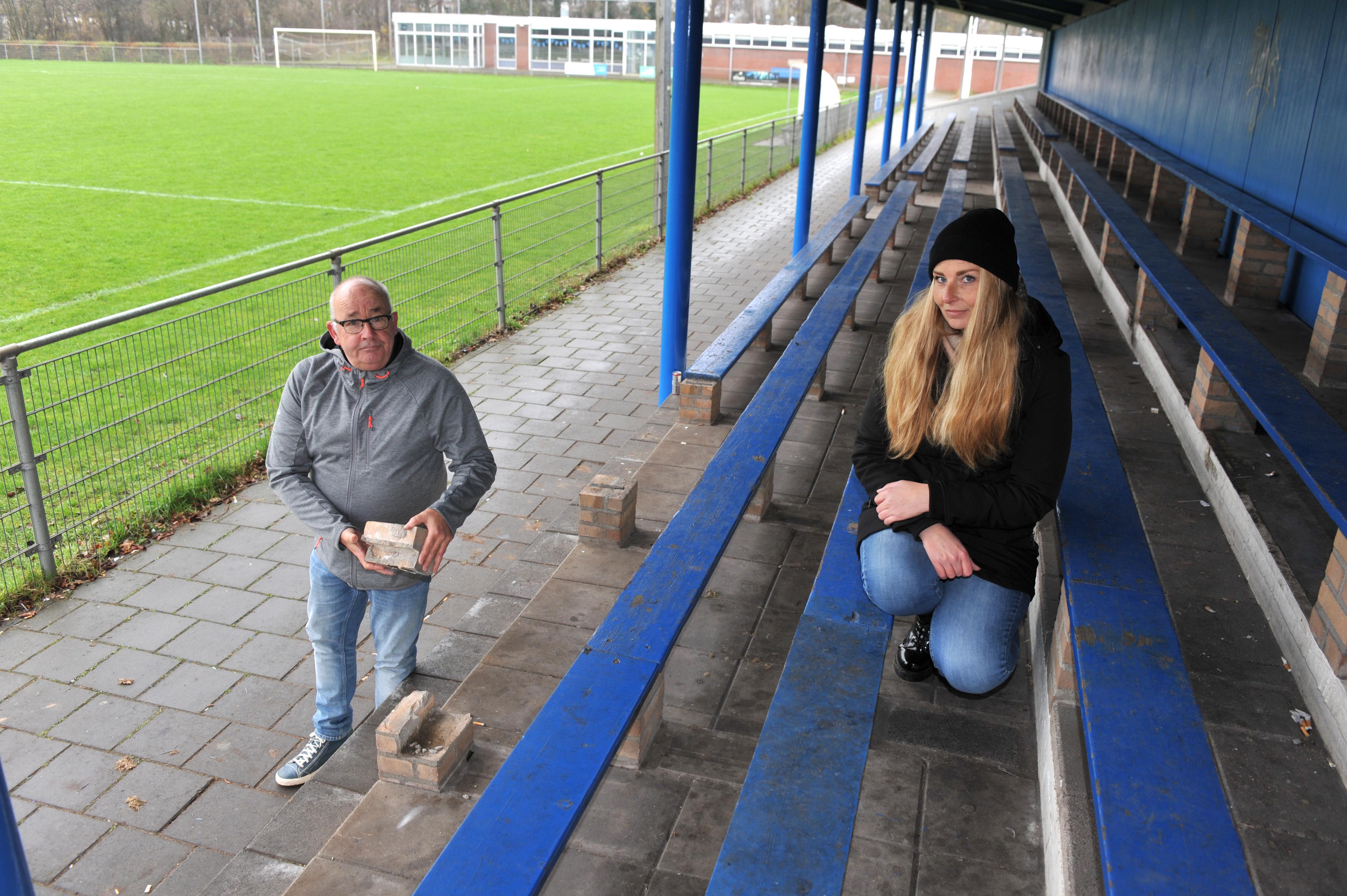 Nog nooit zoveel vernielingen bij FC Velsenoord. 'Er moet iets gaan gebeuren'