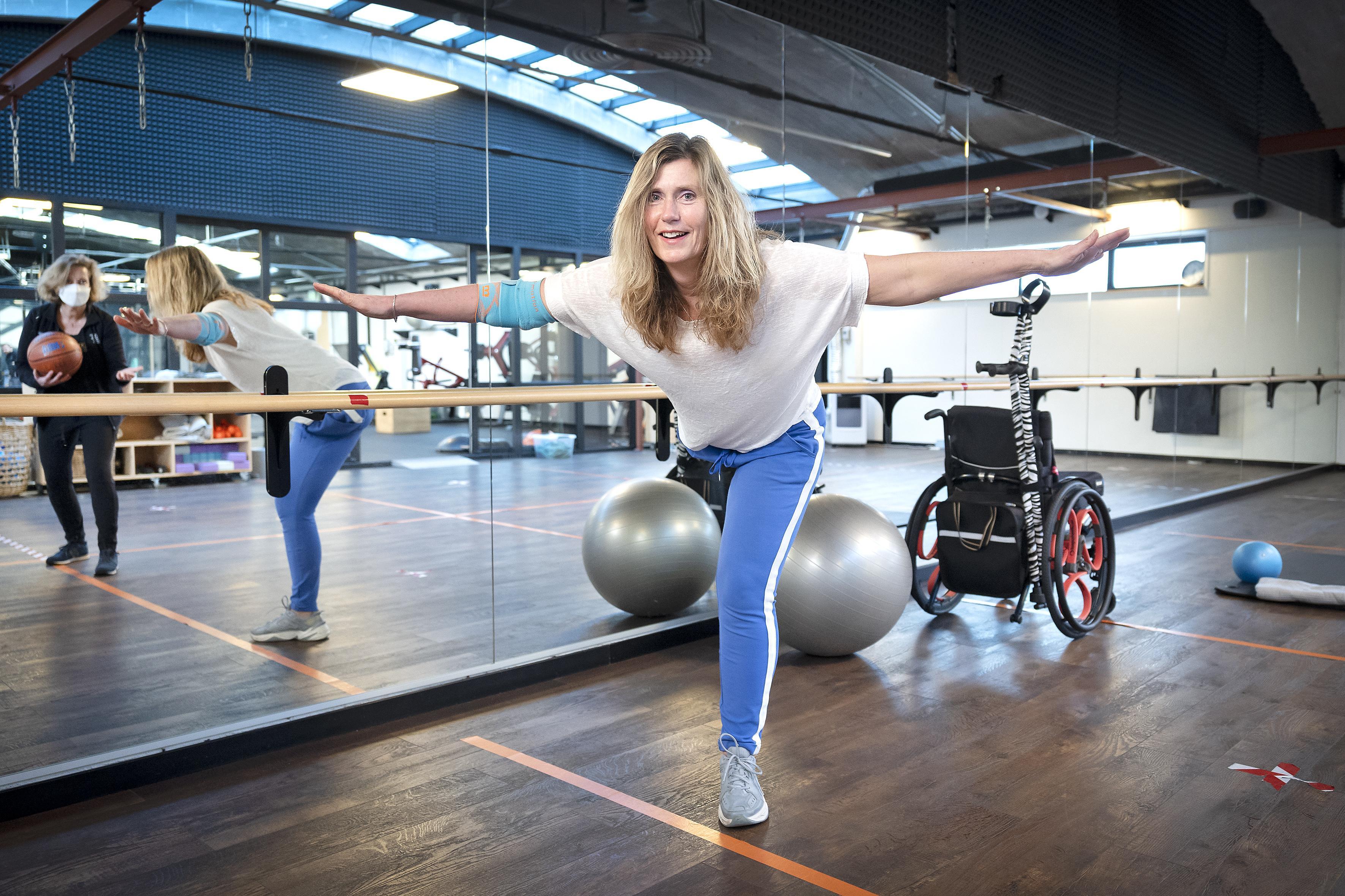 Na amputatie: Ilse Moerkerk is blij met elke stap die ze kan zetten