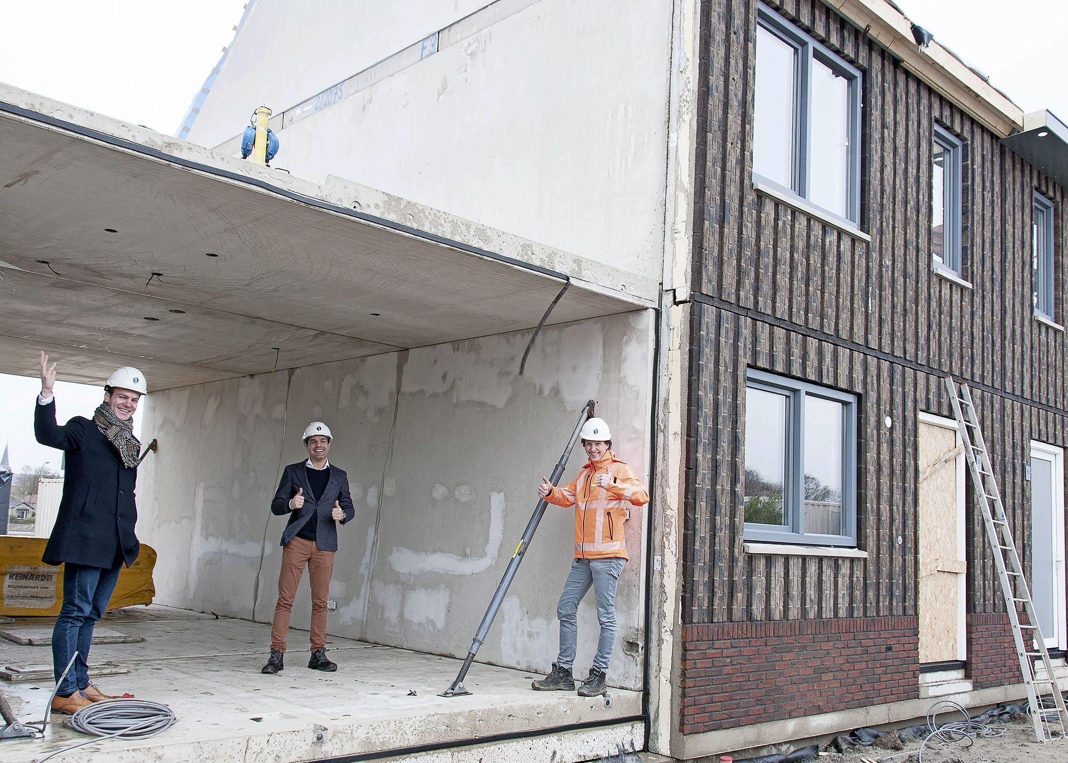 Bouwen als Lego: innovatieve nieuwe huurwoningen in 'no time' geplaatst in Tuitjenhorn