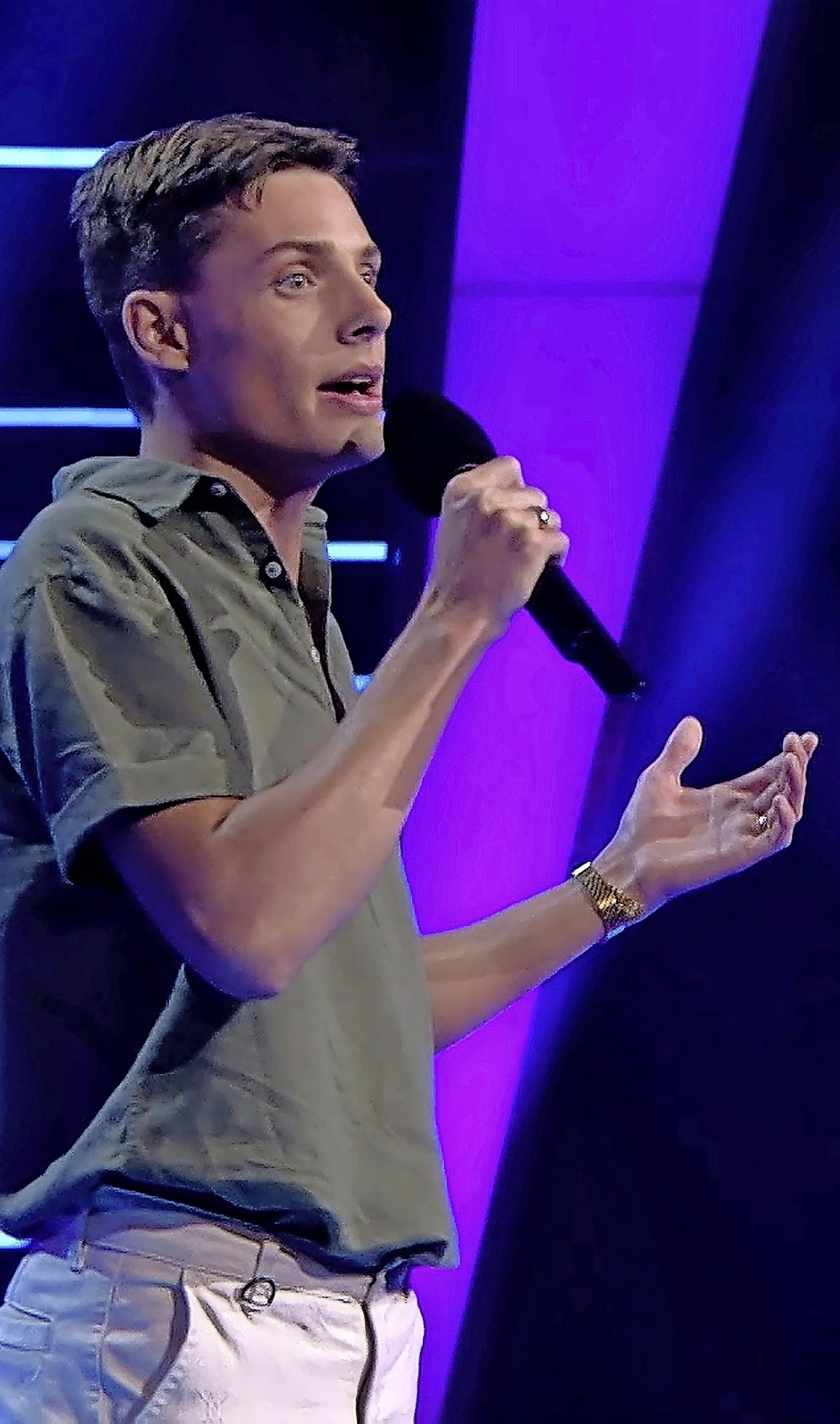 Dim de Groot uit Hem door naar liveshows The Voice of Holland