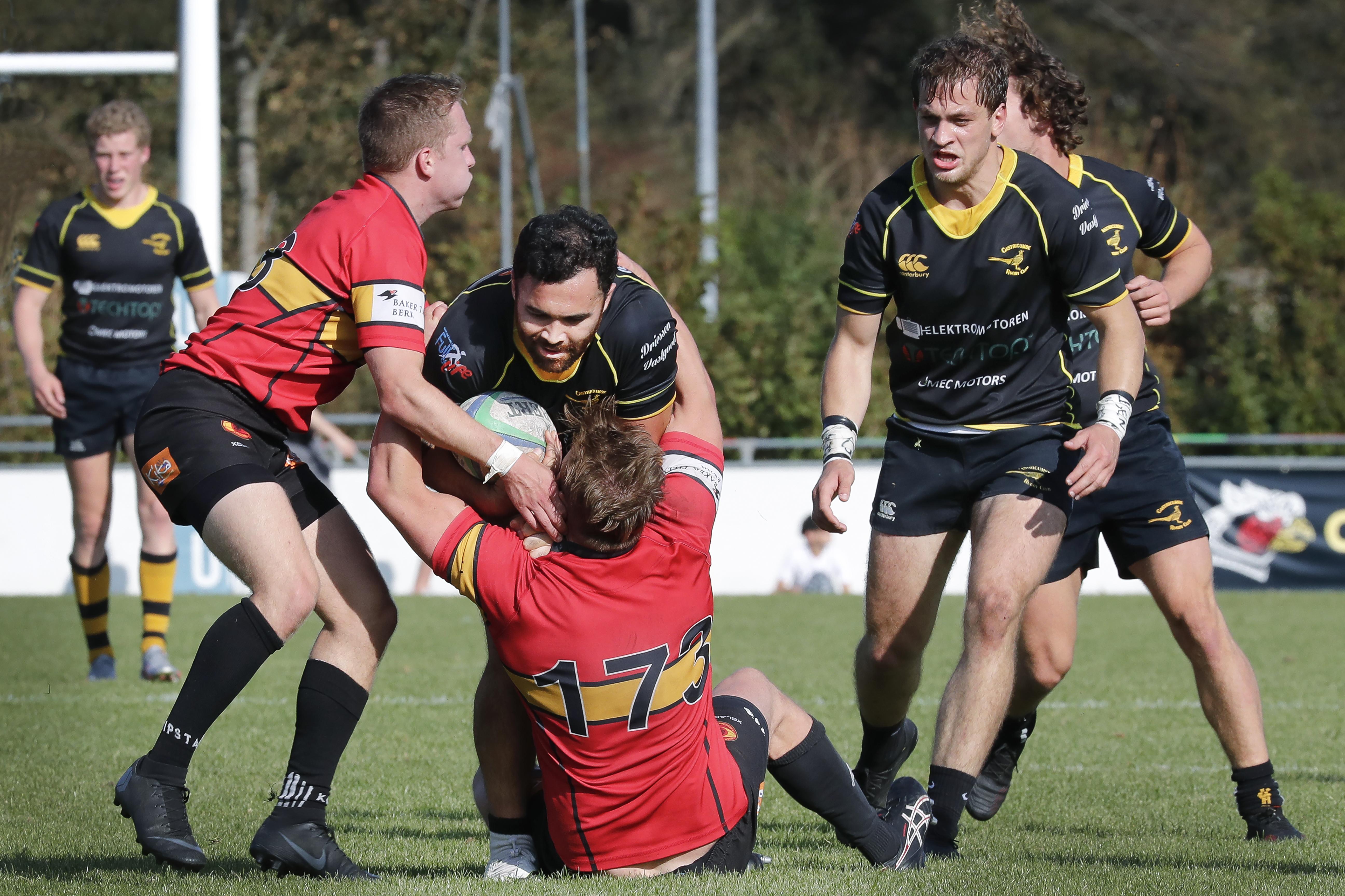 Seizoensopener goede graadmeter voor vorm rugbyers Cas RC: 'We kunnen meteen aan de bak tegen de landskampioen'