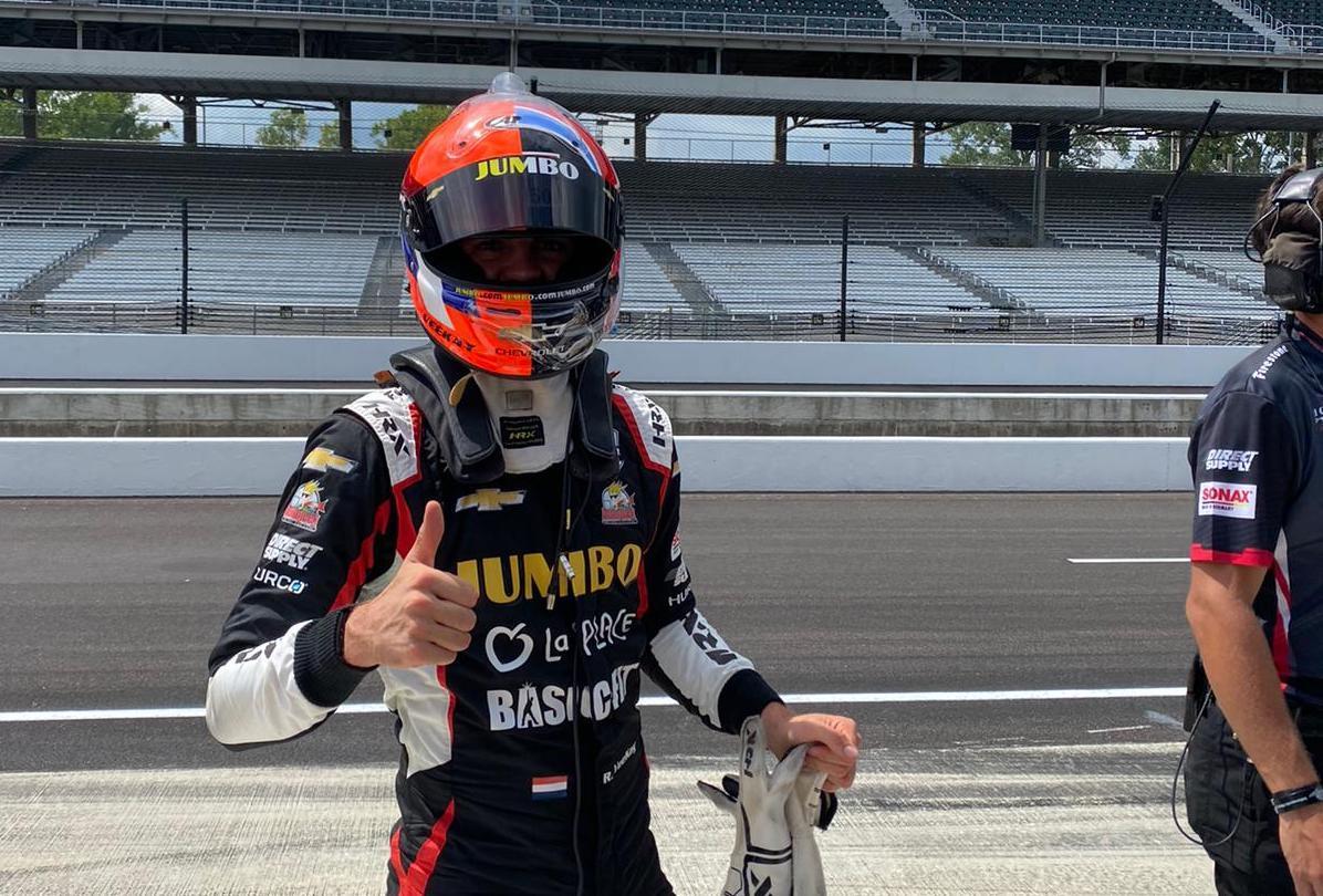 Vegan Rinus van Kalmthout kiest voor een fles volle melk als hij de Indy 500 zou winnen: 'Het meeste gaat dan toch over mijn hoofd'