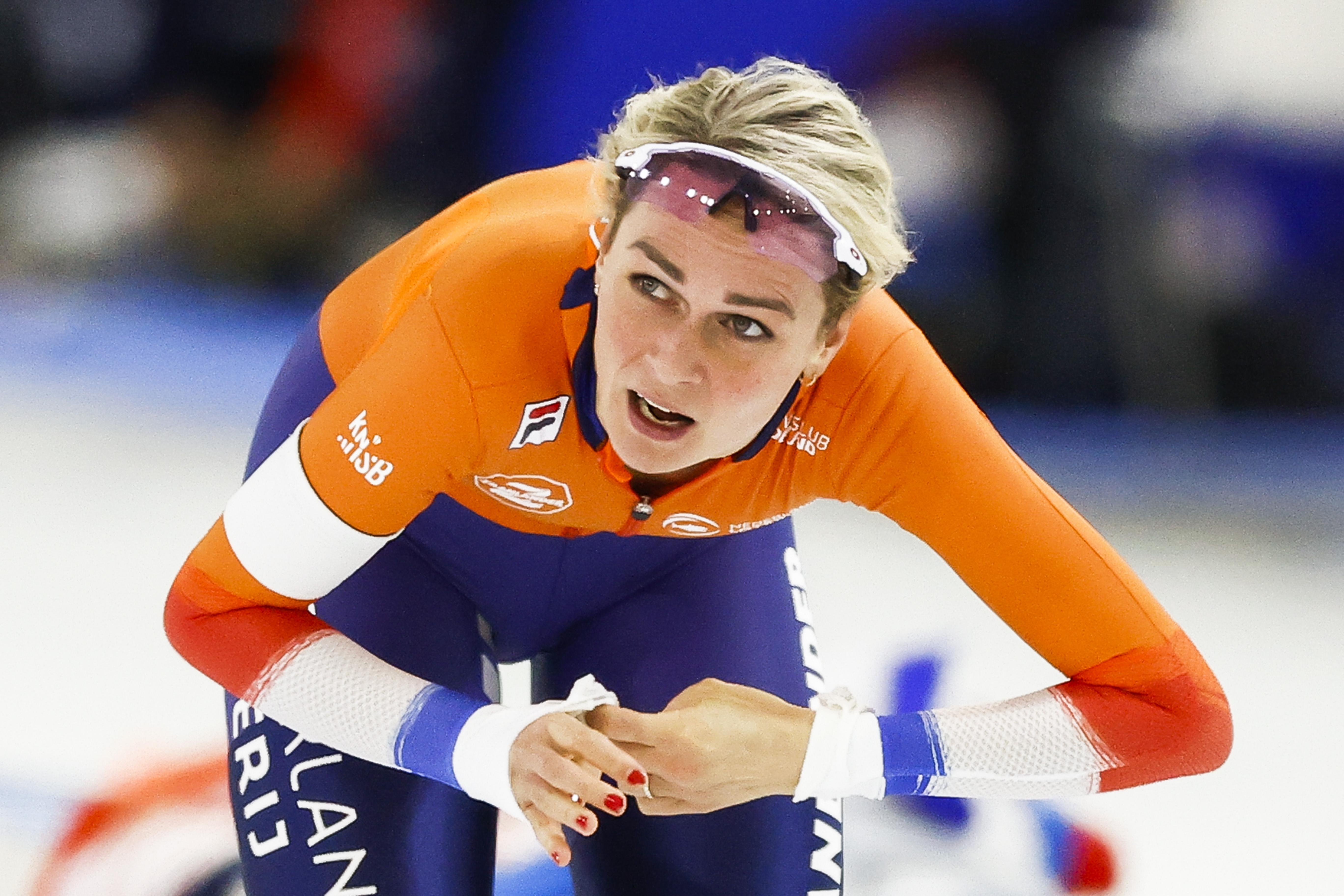 Schaatsster Irene Schouten verrast met zilver op 'bonus'-EK allround