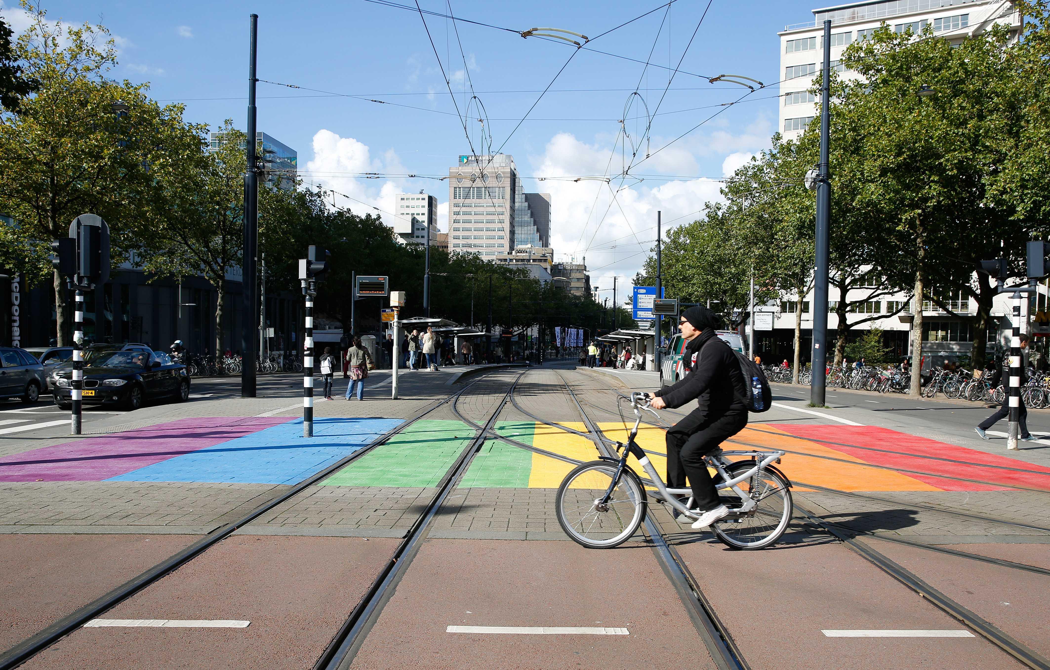 CDA wil zebrapad in regenboogkleuren aan Theodorus Rijkersstraat: 'Iedereen is welkom in Den Helder'