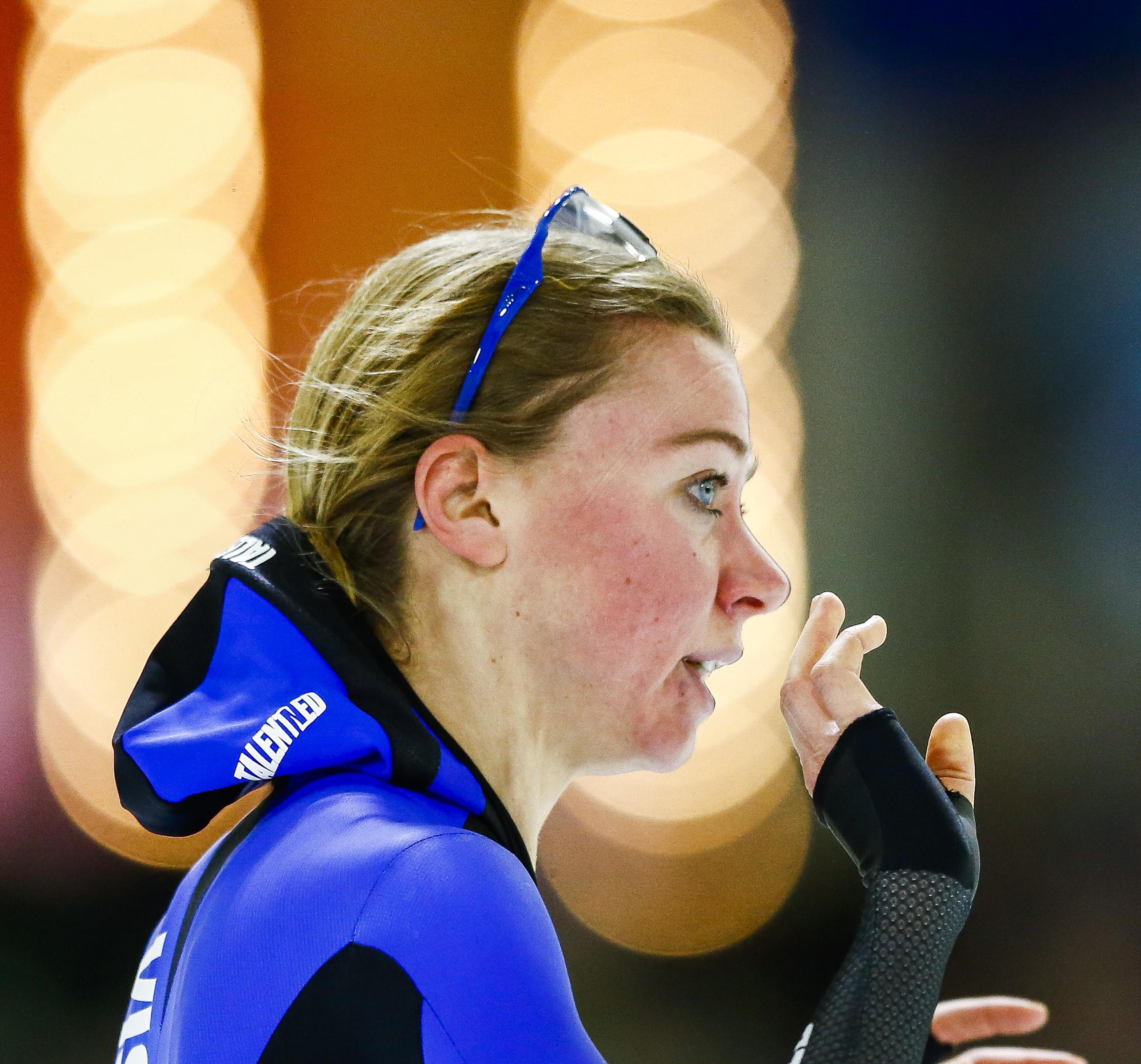 Schaatsster Visser wint ook 5000 m op NK afstanden