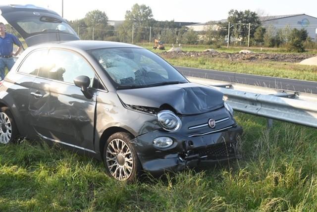 Vrouw gewond bij kettingbotsing op N11 bij Zoeterwoude