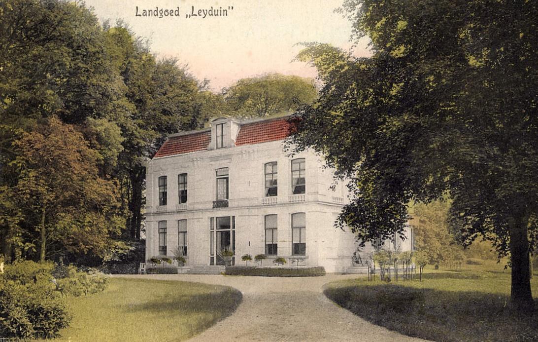 Waarom werd Huis Leyduin in Vogelenzang al na vijftig jaar afgebroken?