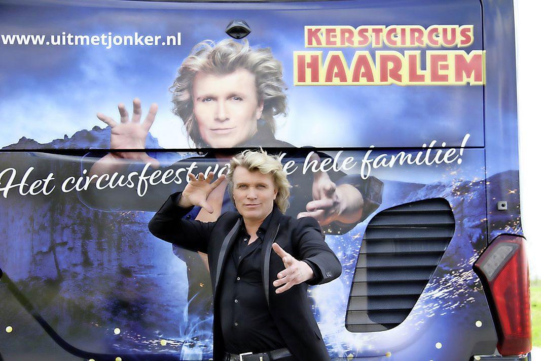 Las Vegas naar Haarlem! Hans Klok vindt het 'geweldig' om weer terug te komen met een kerstcircus