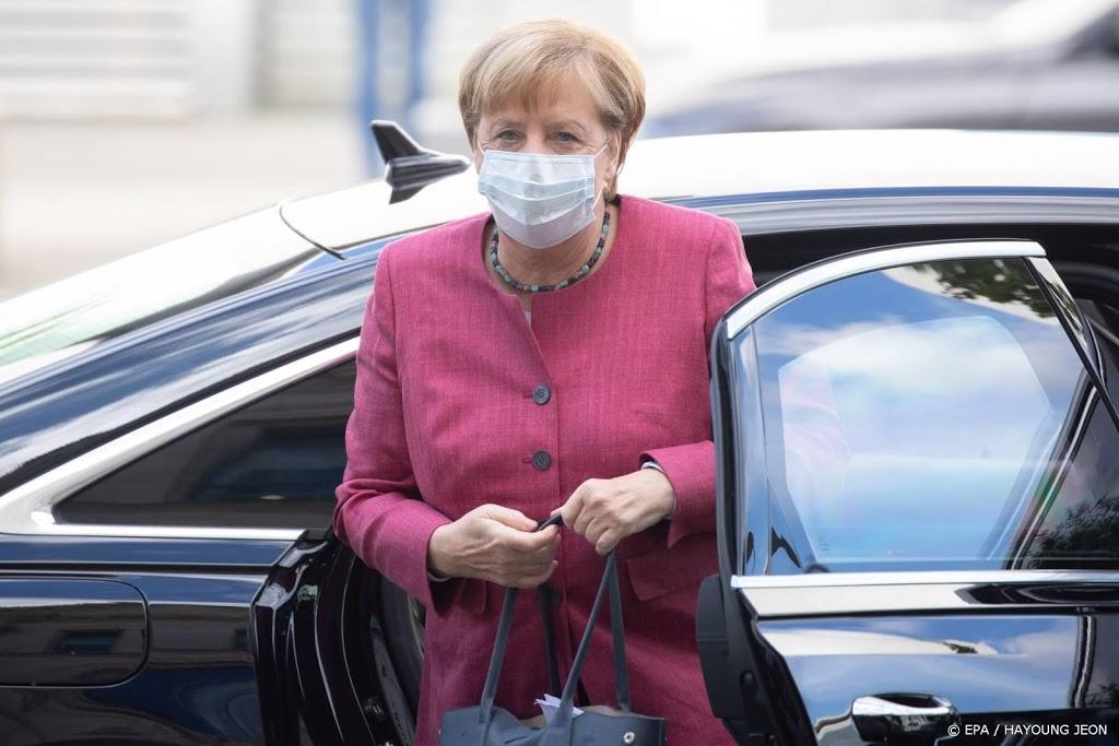 'Merkel wil strengere maatregelen tegen coronavirus'