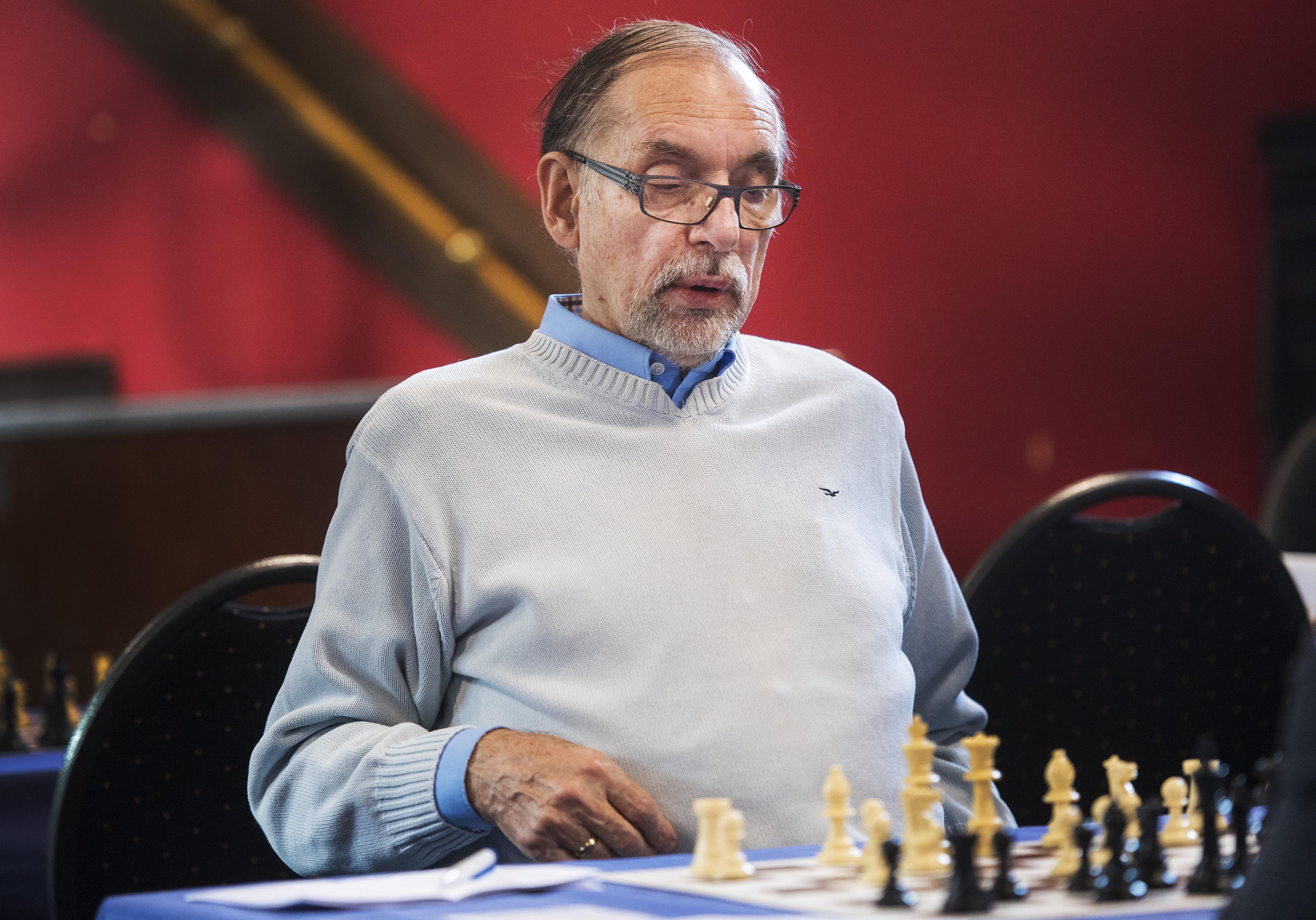 De branie van schaker Frank Sala