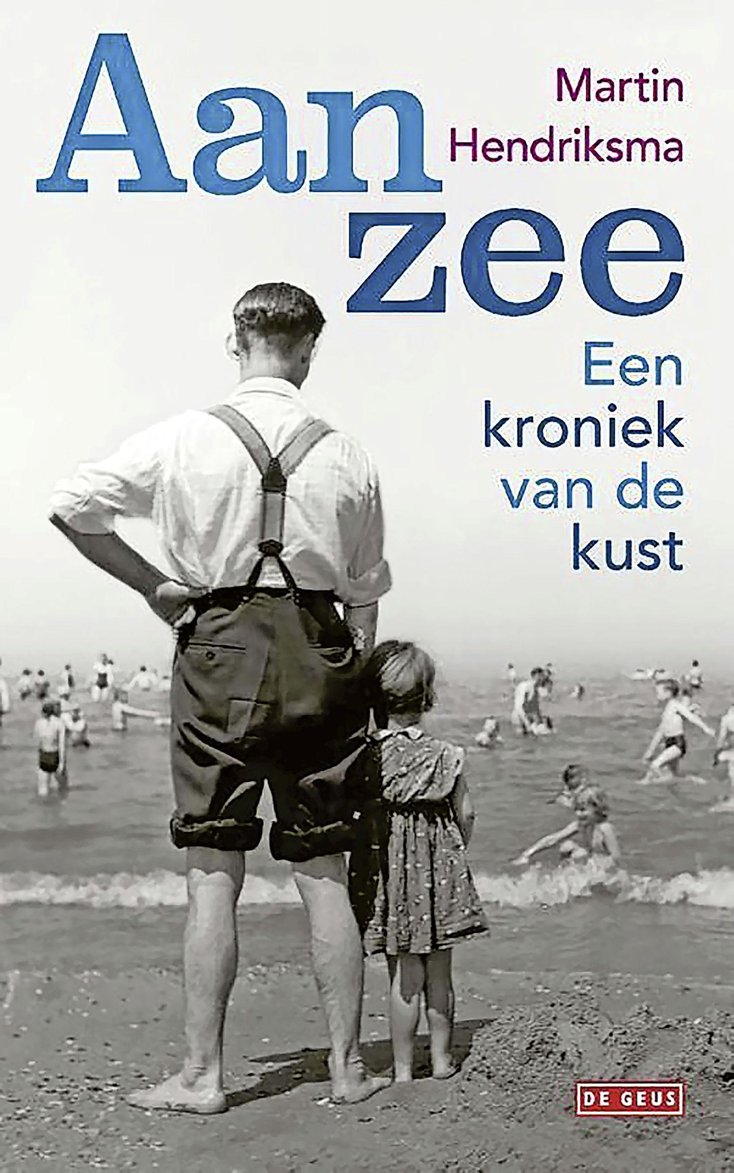 Martin Hendriksma beschrijft in boek 'Aan Zee' de kust; 'Wandelend langs de vloedlijn waaien alle beslommeringen uit je kop'