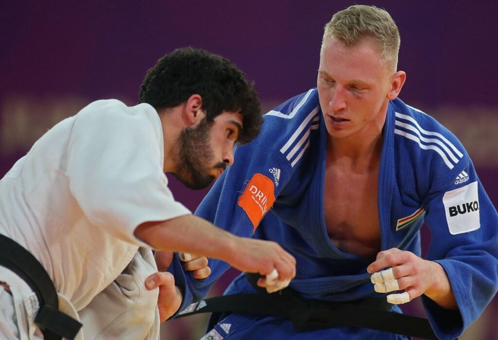 'Van naweeën van corona heb ik helemaal geen last meer. Daar ben ik echt het meest blij mee', is judoka Frank de Wit opgelucht. 'Op weg naar WK in Boedapest heb ik het gevoel dat ik er goed in zit'