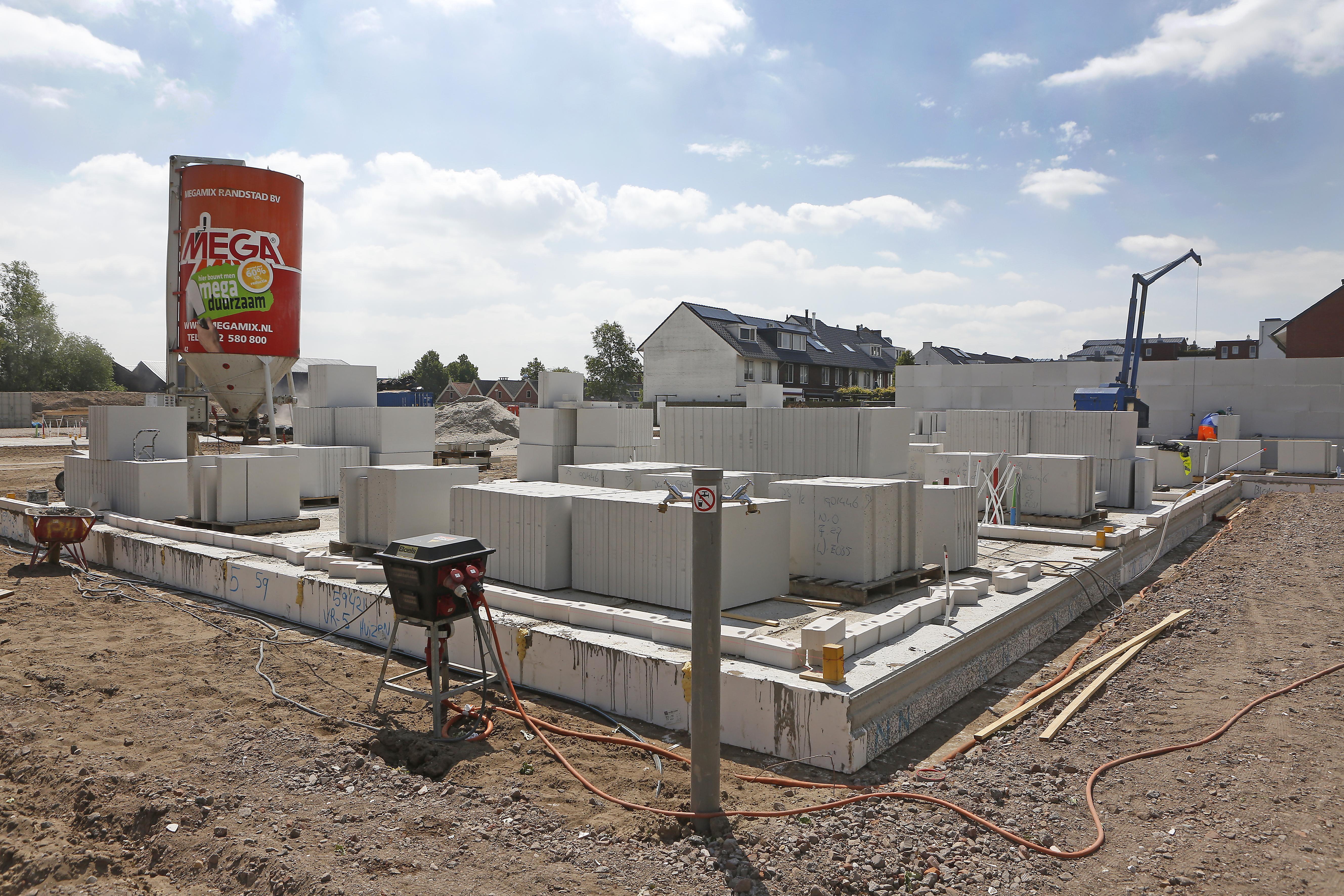 Plan voor 20.000 woningen erbij in Haarlem, Zaanstad, Purmerend, Hilversum en Amsterdam