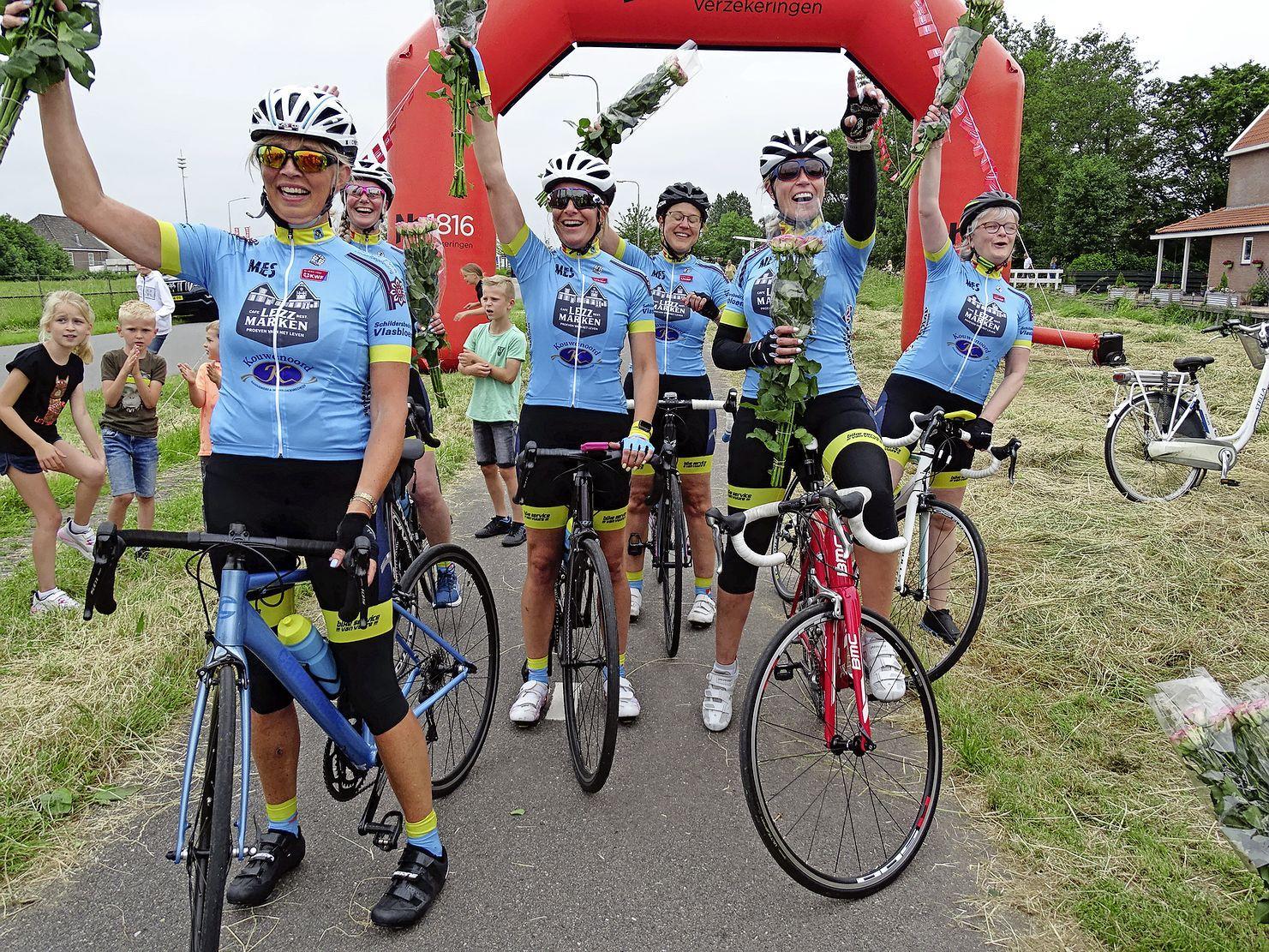 Charity Ride in Marken groot succes: Ruim 13.000 euro opgebracht voor het goede doel