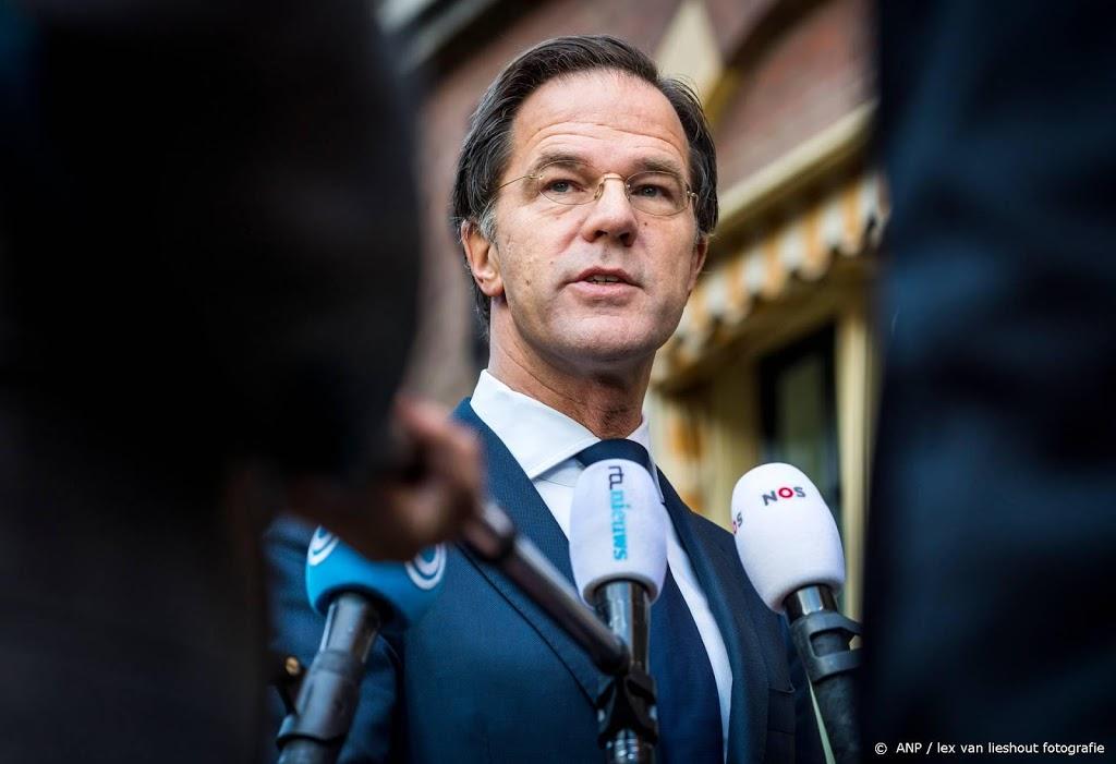 Rutte: rellen zijn geen protest maar crimineel geweld
