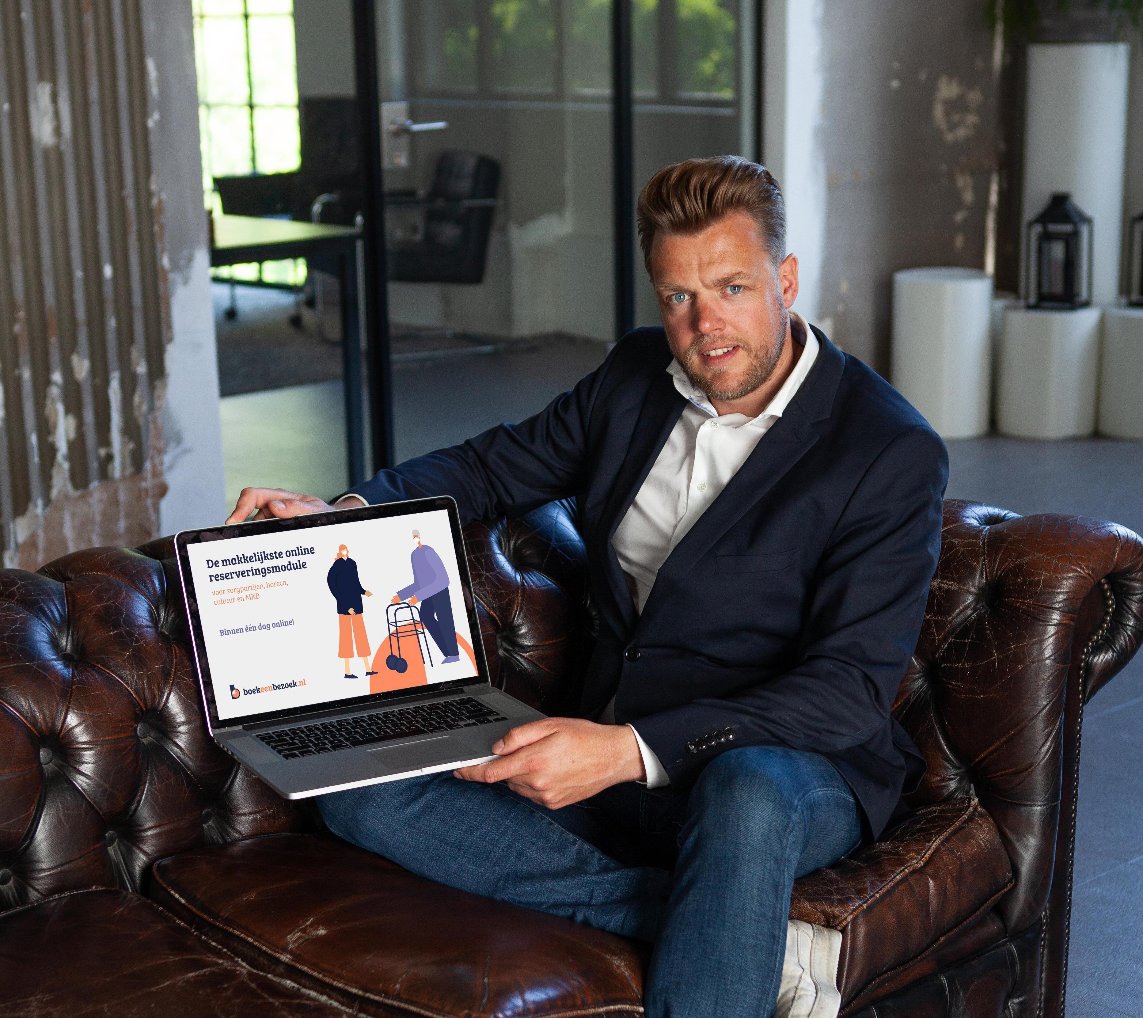 Groeier! in Blokker lanceert boekeenbezoek.nl voor bezoekregistratie in coronatijd