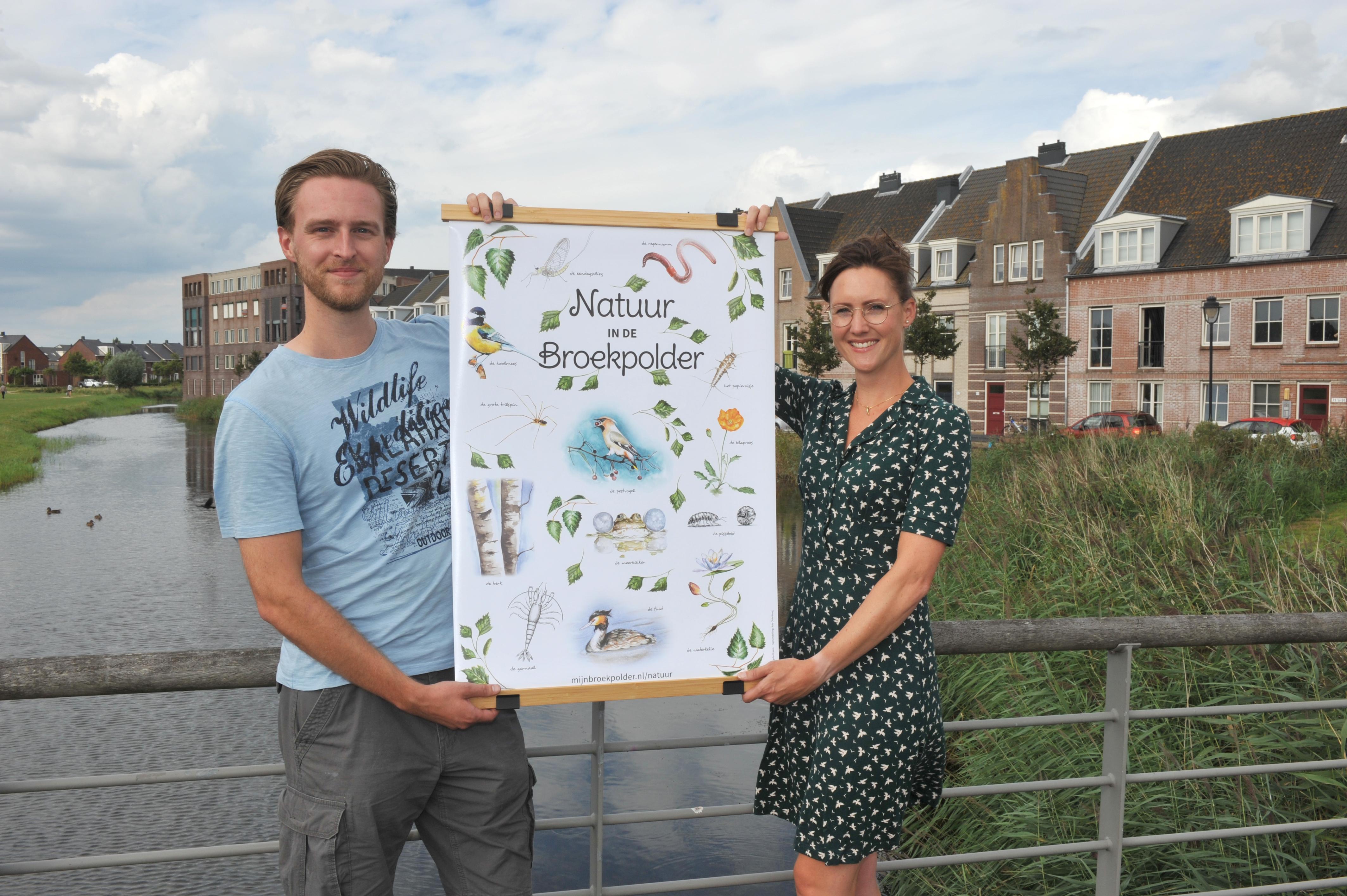 De wijk Broekpolder in Beverwijk en Heemskerk is een unieke biotoop. 'Wat de natuur hier zo bijzonder maakt is dat er ook heel veel water is.' Maar je moet er geen garnalen eten, ook niet met cocktailsaus